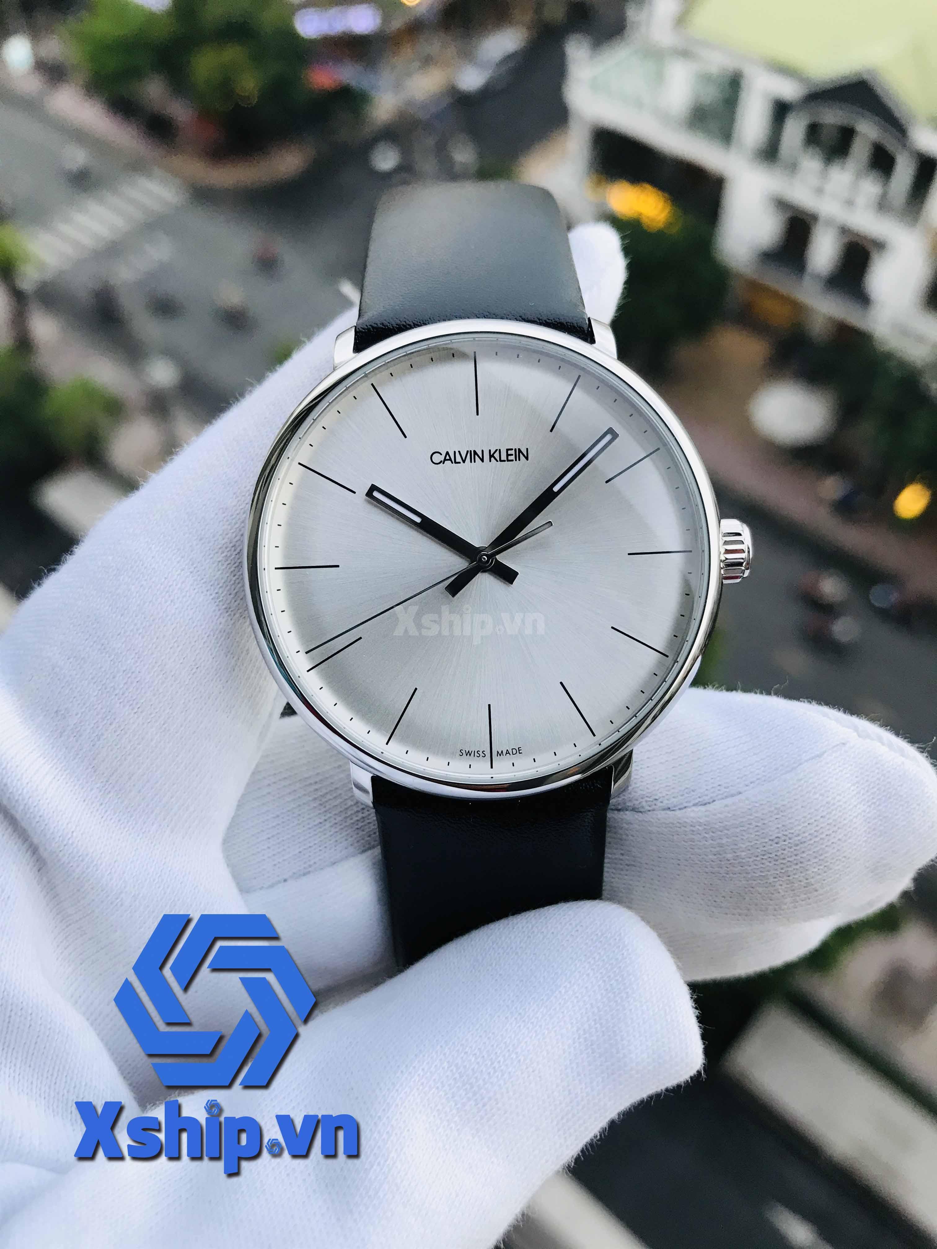 Calvin Klein High Noon Quartz Silver Dial Men Watch K8M211C6