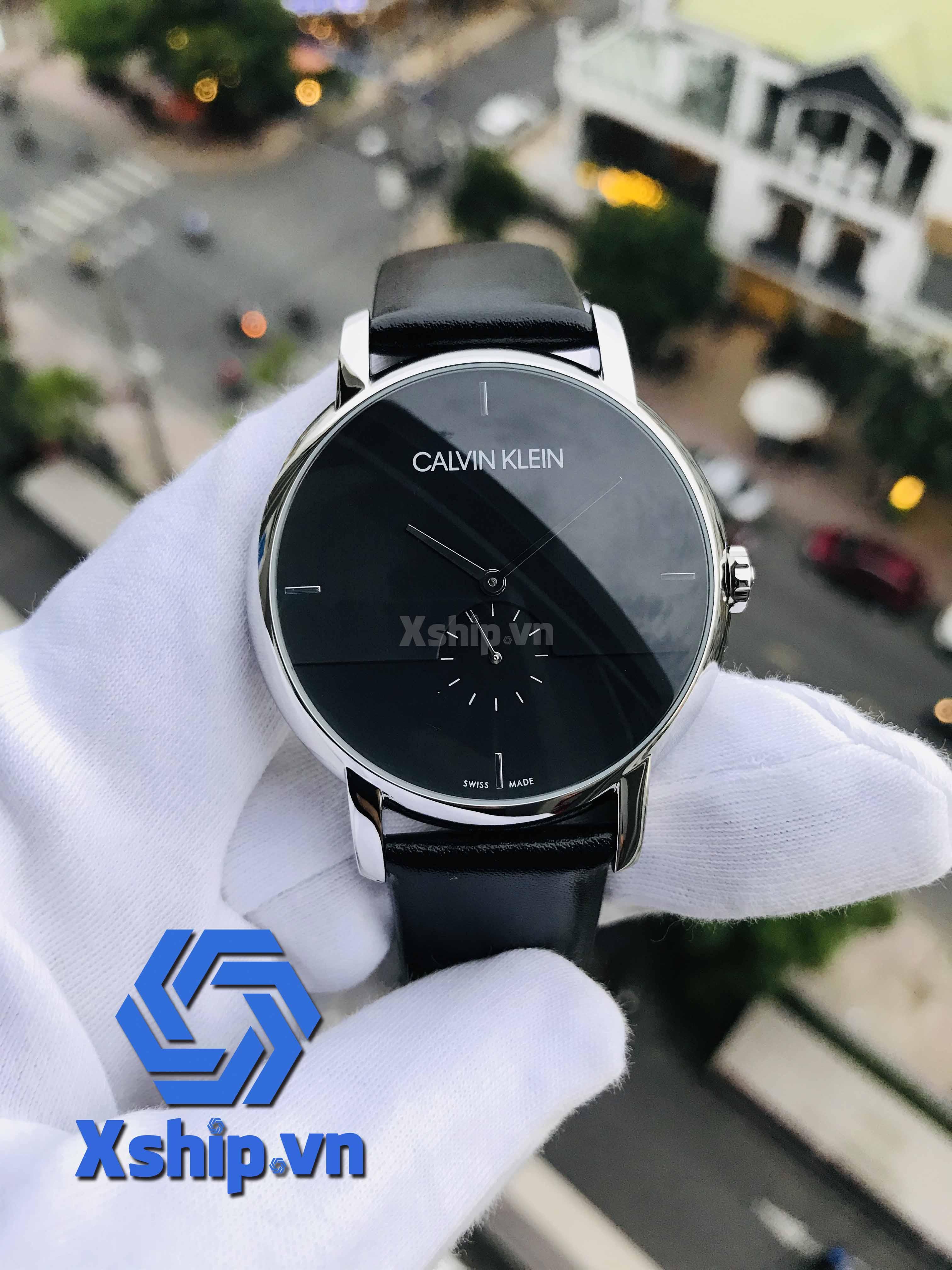 Calvin Klein Established Quartz Black Dial Men Watch K9H2X1C1