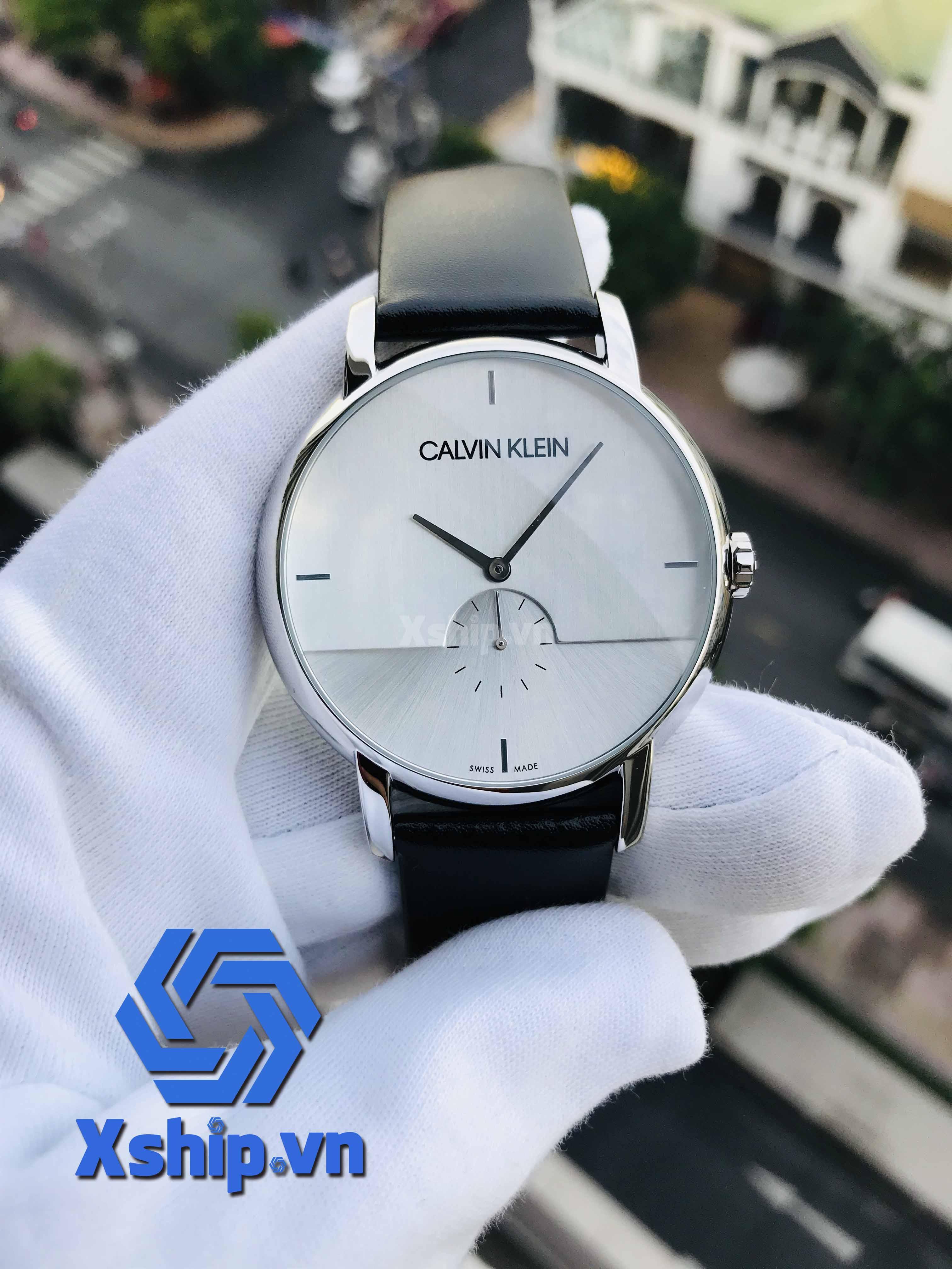 Calvin Klein Established Quartz Silver Dial Men Watch K9H2X1C6