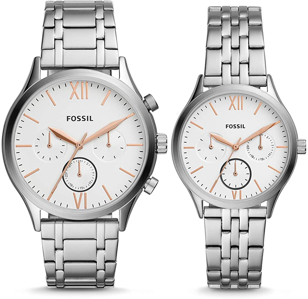 Fossil-His-and-Her-Fenmore-Midsize-Multifunction-BQ2468SET