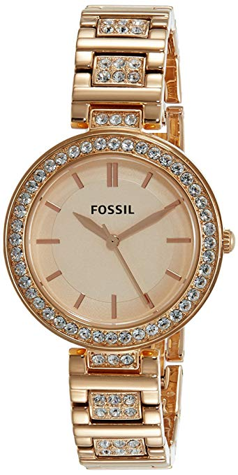 Fossil-Karli-Three-Hand-Rose-Gold-Tone-BQ3181