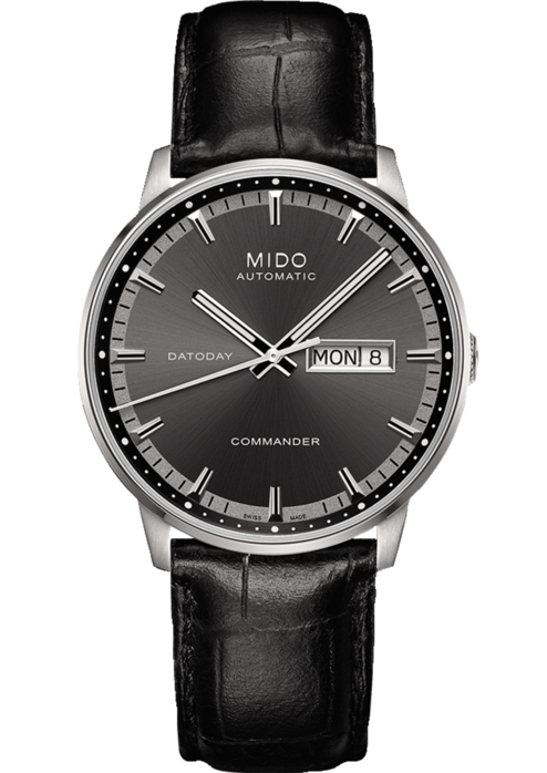 Mido-Commander-II-Automatic-Anthracite-Dial-Mens-M016.430.16.061.80-(M0164301606180)