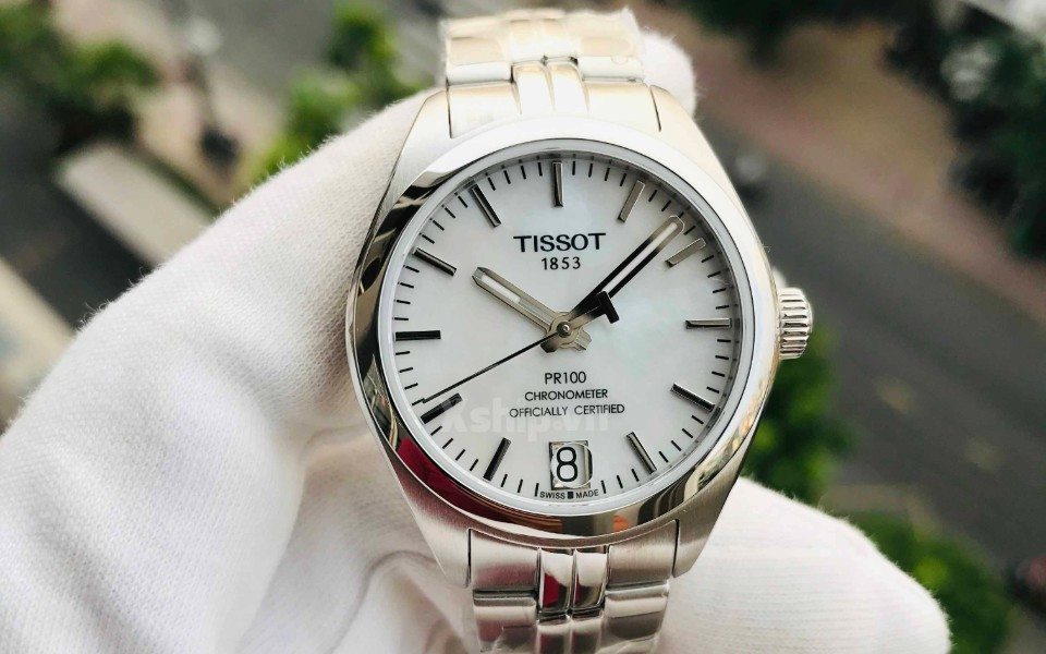 Đồng hồ nữ Tissot PR 100 máy cơ khí đang có sẵn tại Xship.vn