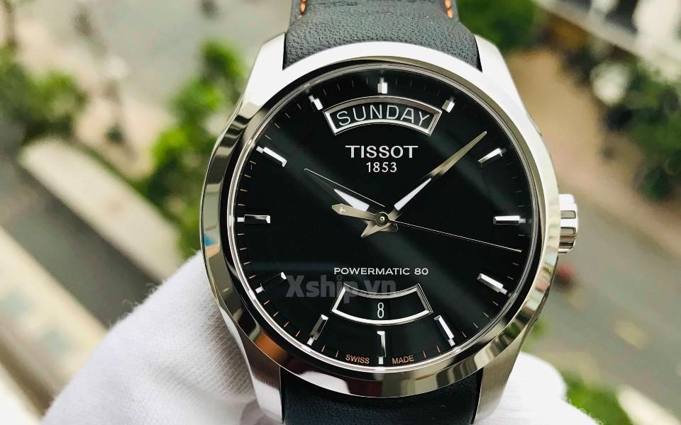 Đồng hồ nam Tissot Couturier máy cơ khí đang có sẵn tại Xship.vn