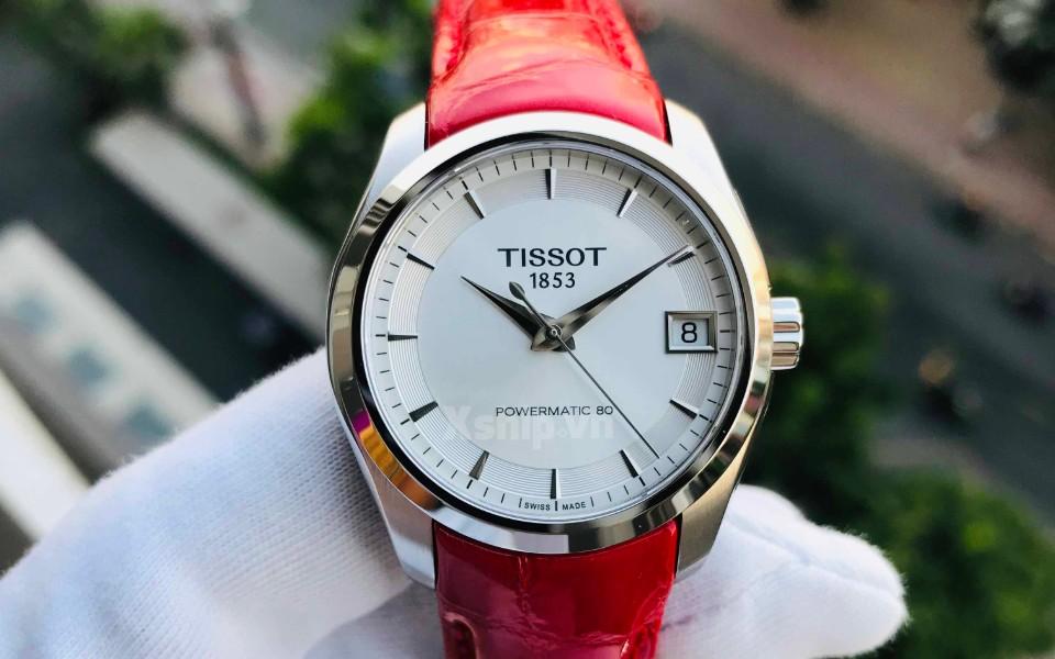 Đồng hồ nữ Tissot Couturier máy cơ khí đang có sẵn tại Xship.vn