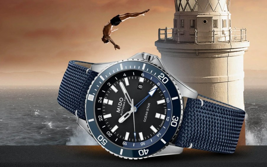 Đồng hồ nam Mido Ocean Star Captain máy cơ khí đang giảm giá rất tốt tại Mỹ