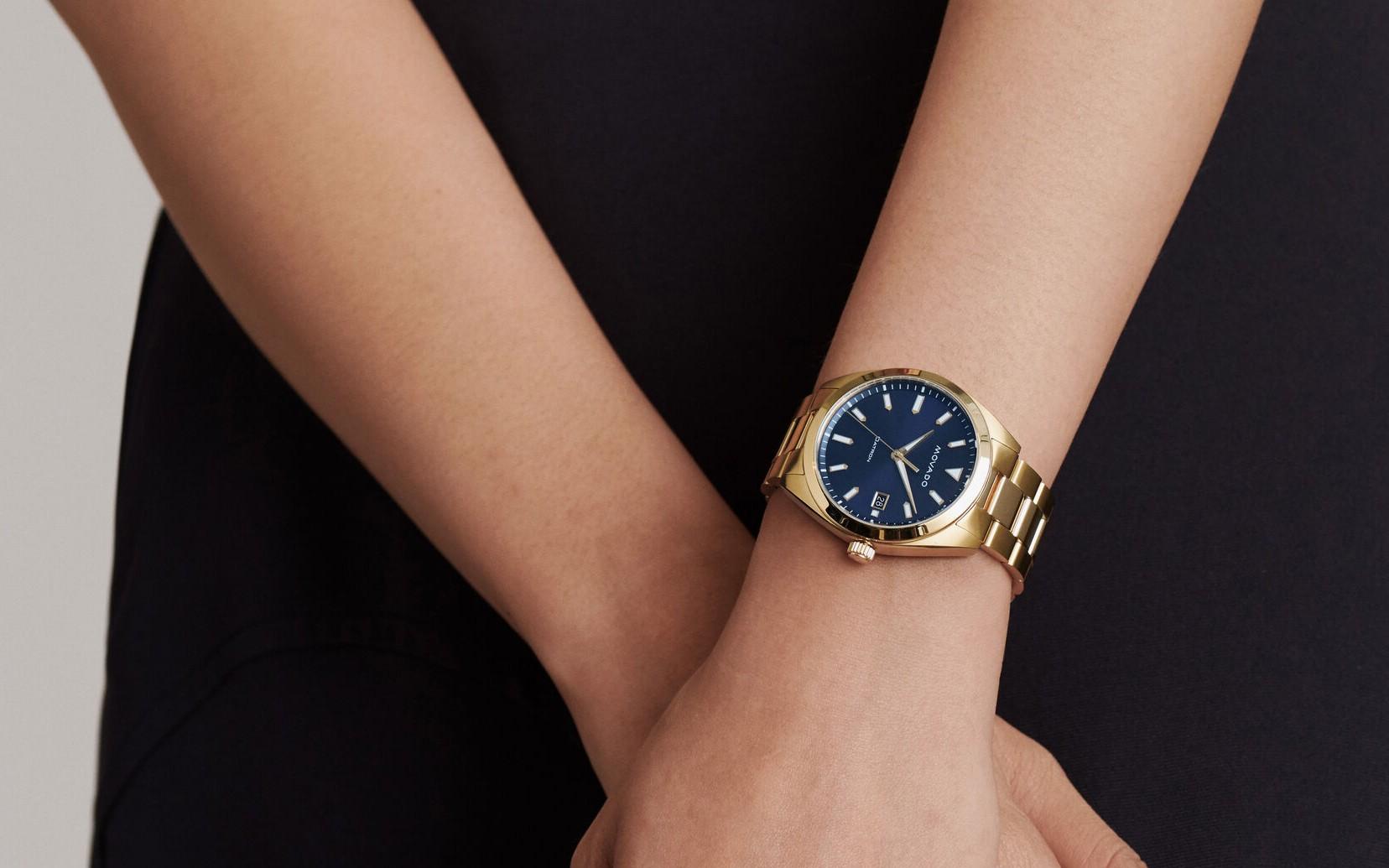 Đồng hồ nữ Movado Heritage máy pin đang giảm giá rất tốt tại Mỹ