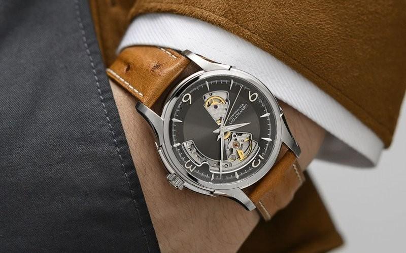 Đồng hồ nam Hamilton Jazzmaster máy cơ khí đang giảm giá rất tốt tại Mỹ