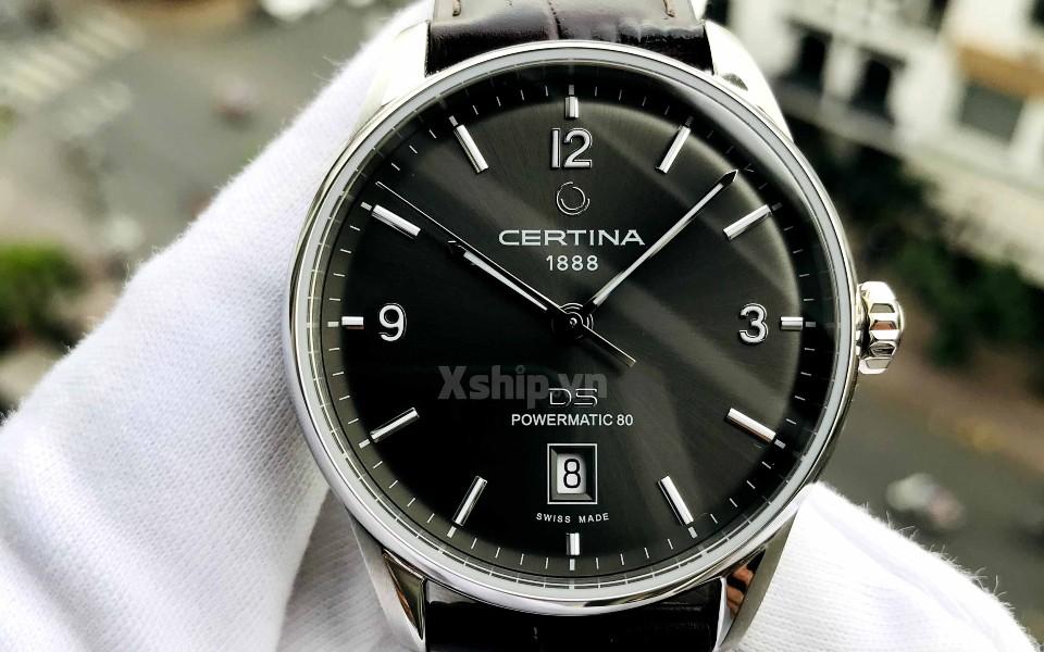 Đồng hồ nam Certina máy cơ khí đang có sẵn tại Xship.vn