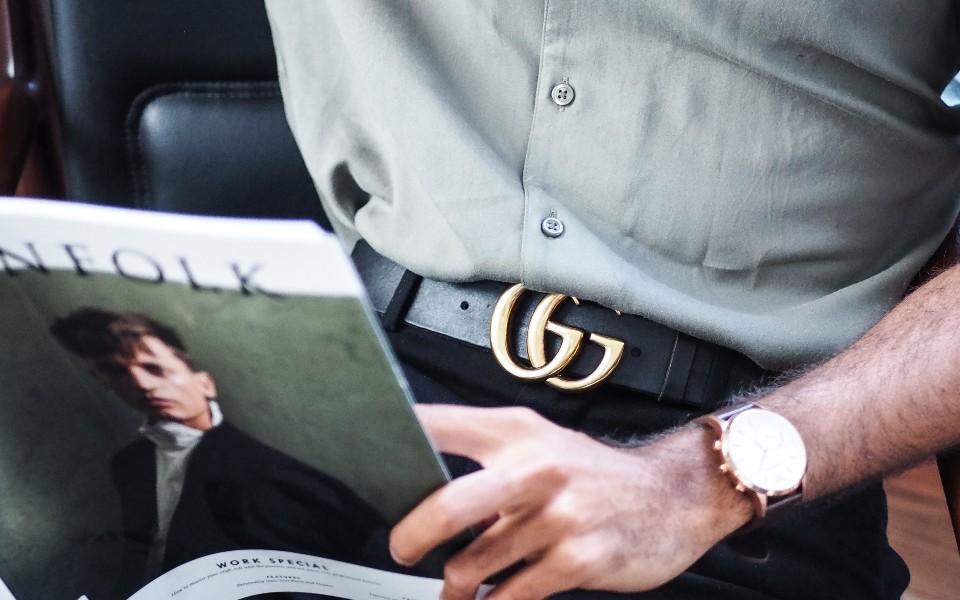 Thắt lưng nam Gucci đang giảm giá rất tốt tại Mỹ