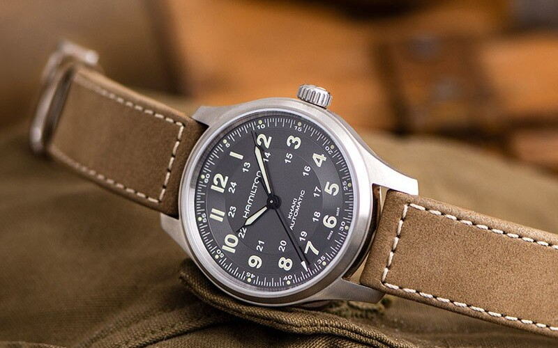 Đồng hồ Khaki Field Titanium Automatic của Hamilton