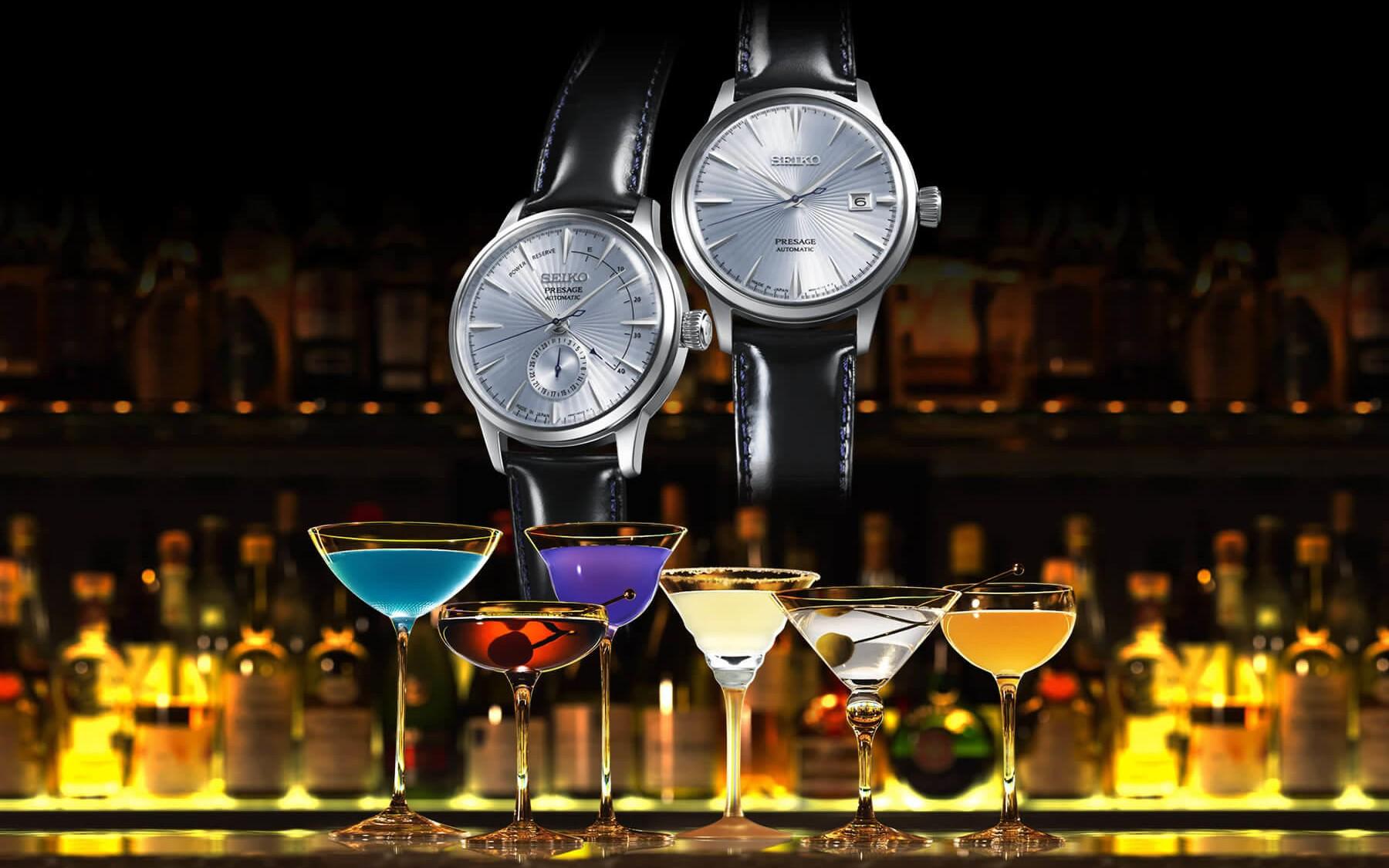 Nguồn cảm hứng cho bộ sưu tập Seiko Presage từ Cocktail Bar