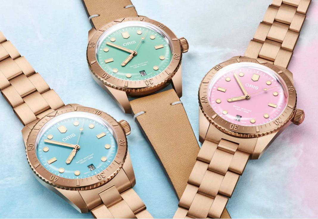 Oris giới thiệu ba bộ sưu tập đồng hồ mới
