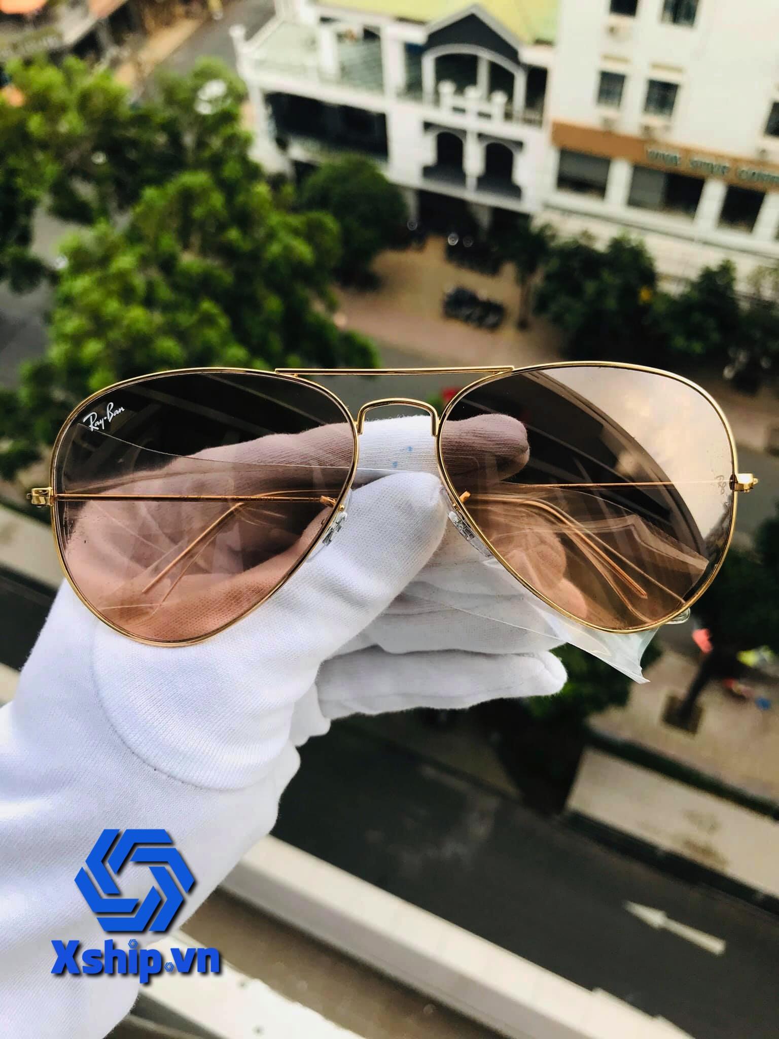 Ray-Ban Aviator Sunglasses RB3025 001/3E 58-14