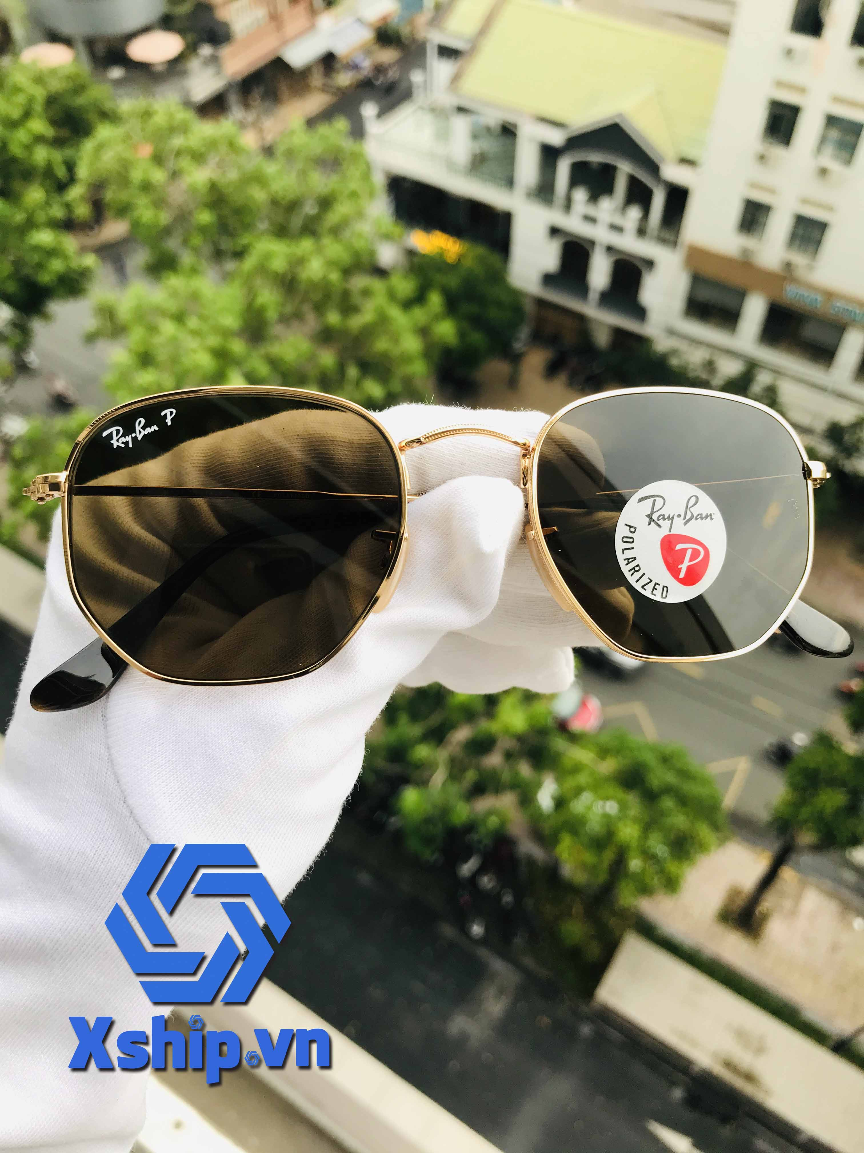 Ray-Ban Hexagonal RB3548N 001/57 51