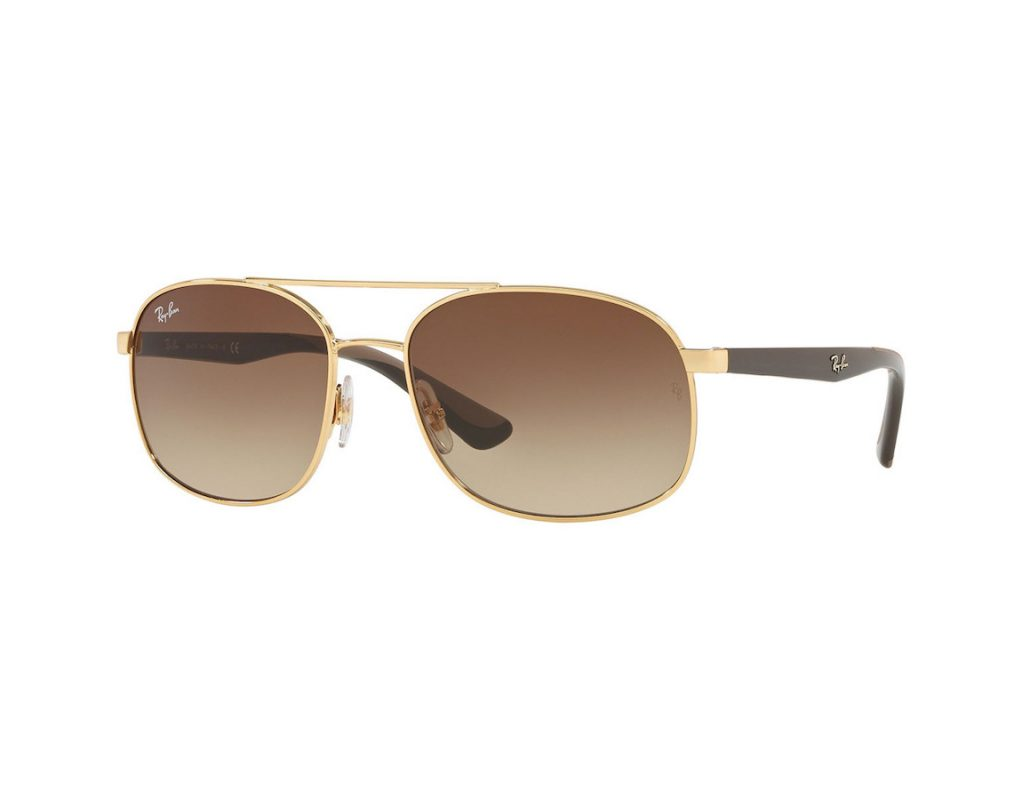 Ray-Ban Brown Gradient Square RB3593 001/13 58