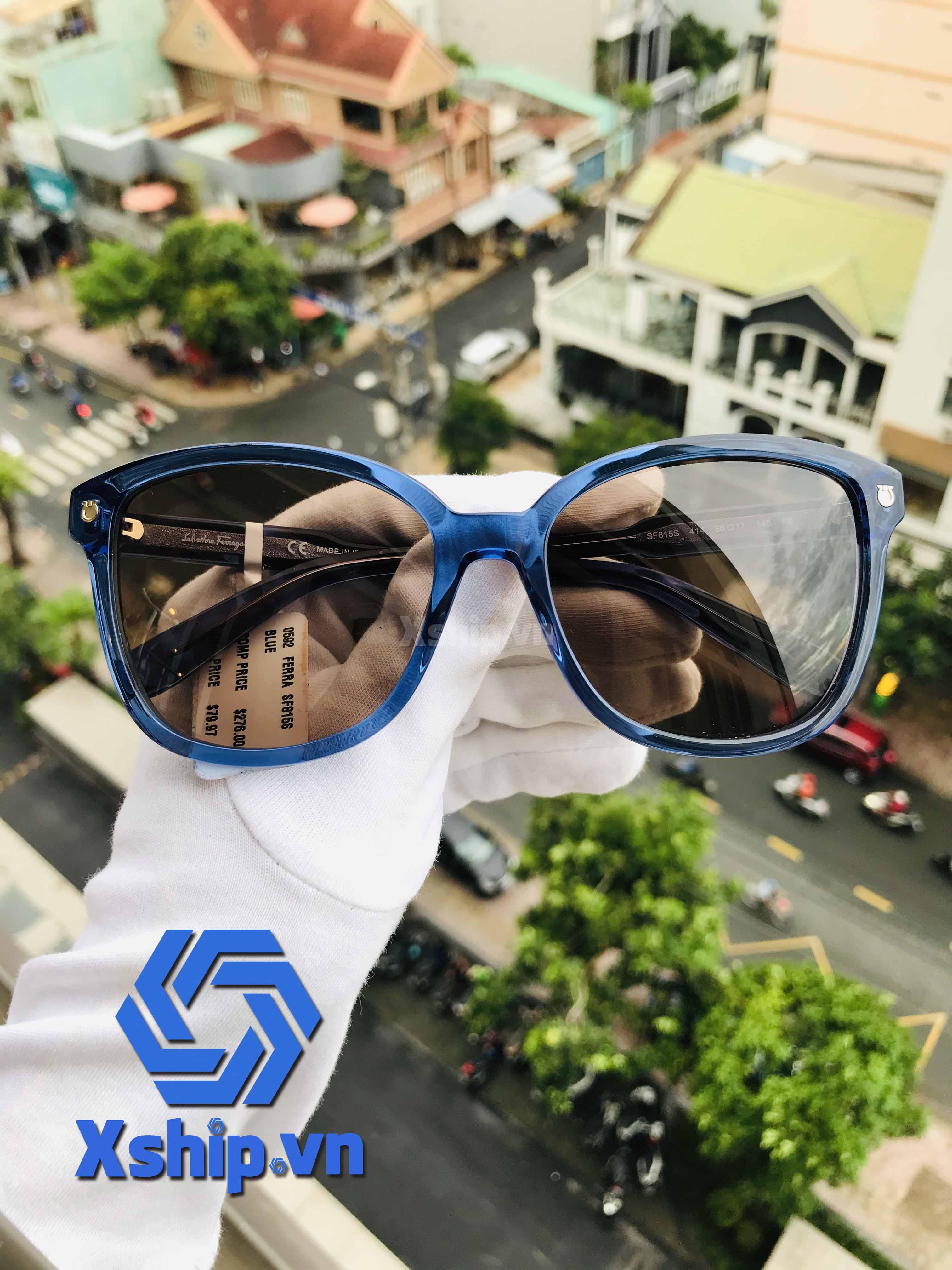 Salvatore Ferragamo Sunglasses SF815S Blue