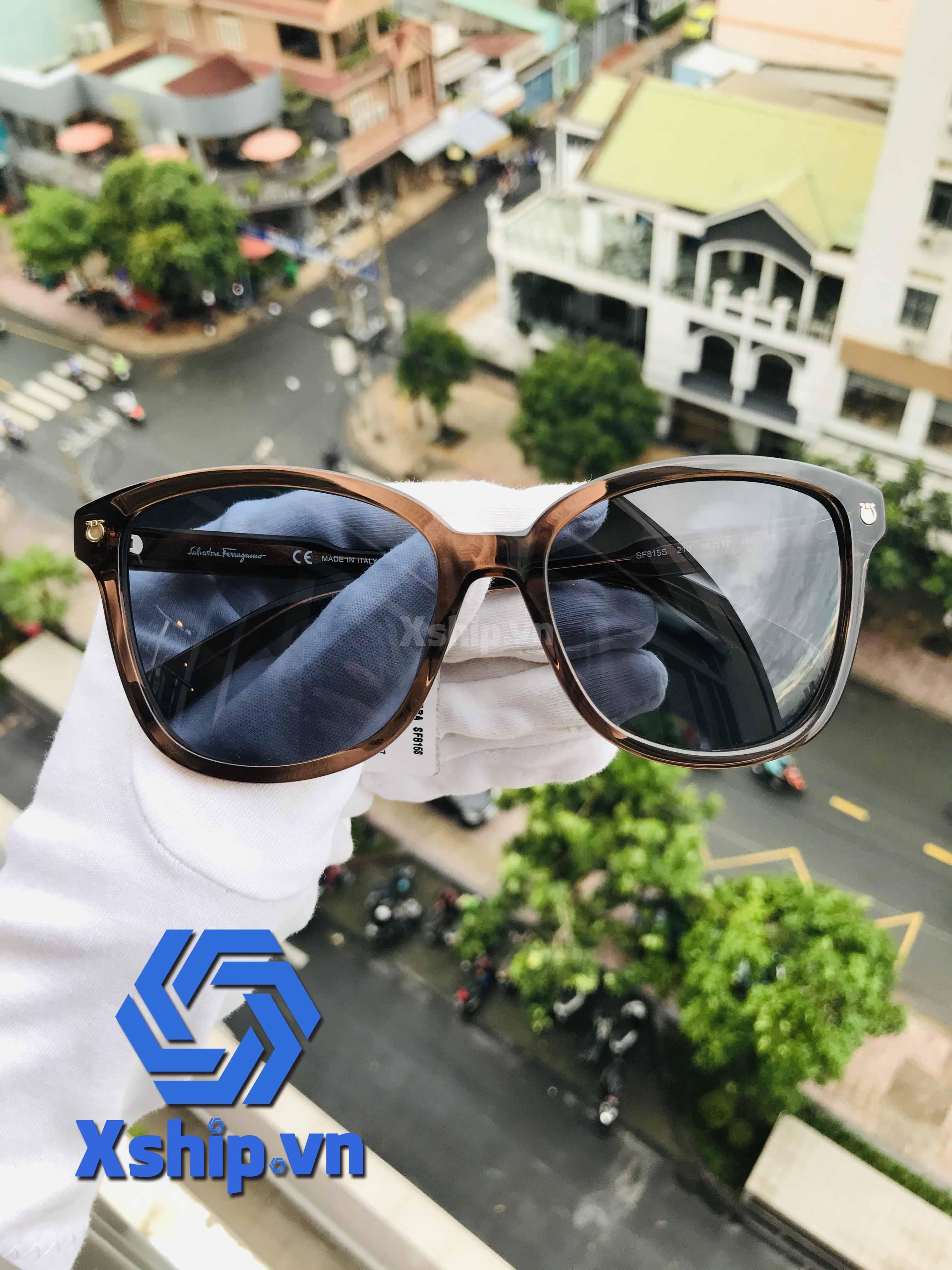 Salvatore Ferragamo Sunglasses SF815S Brown
