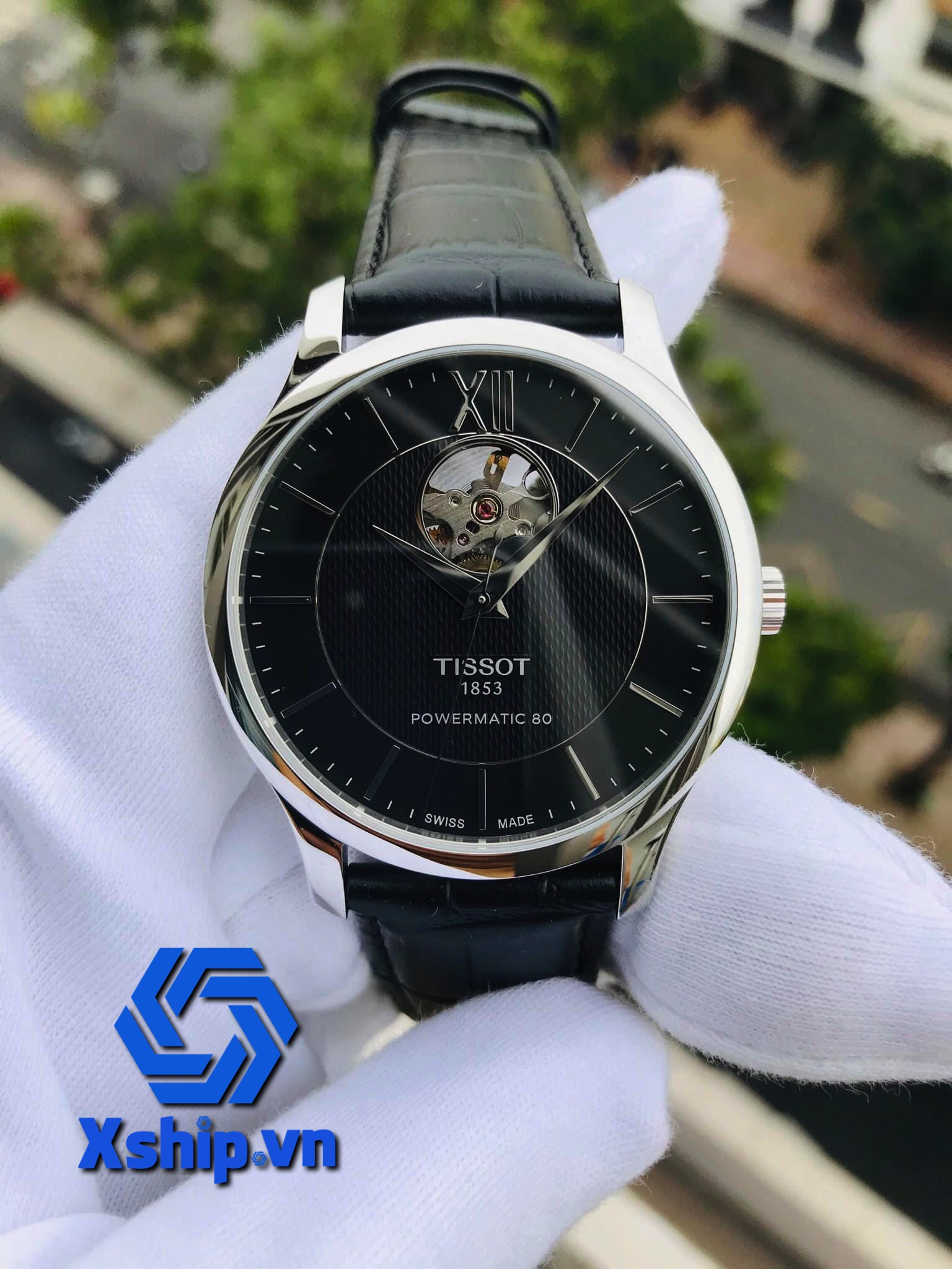 Tissot Tradition Automatic Black Dial Mens T063.907.16.058.00 (T0639071605800)