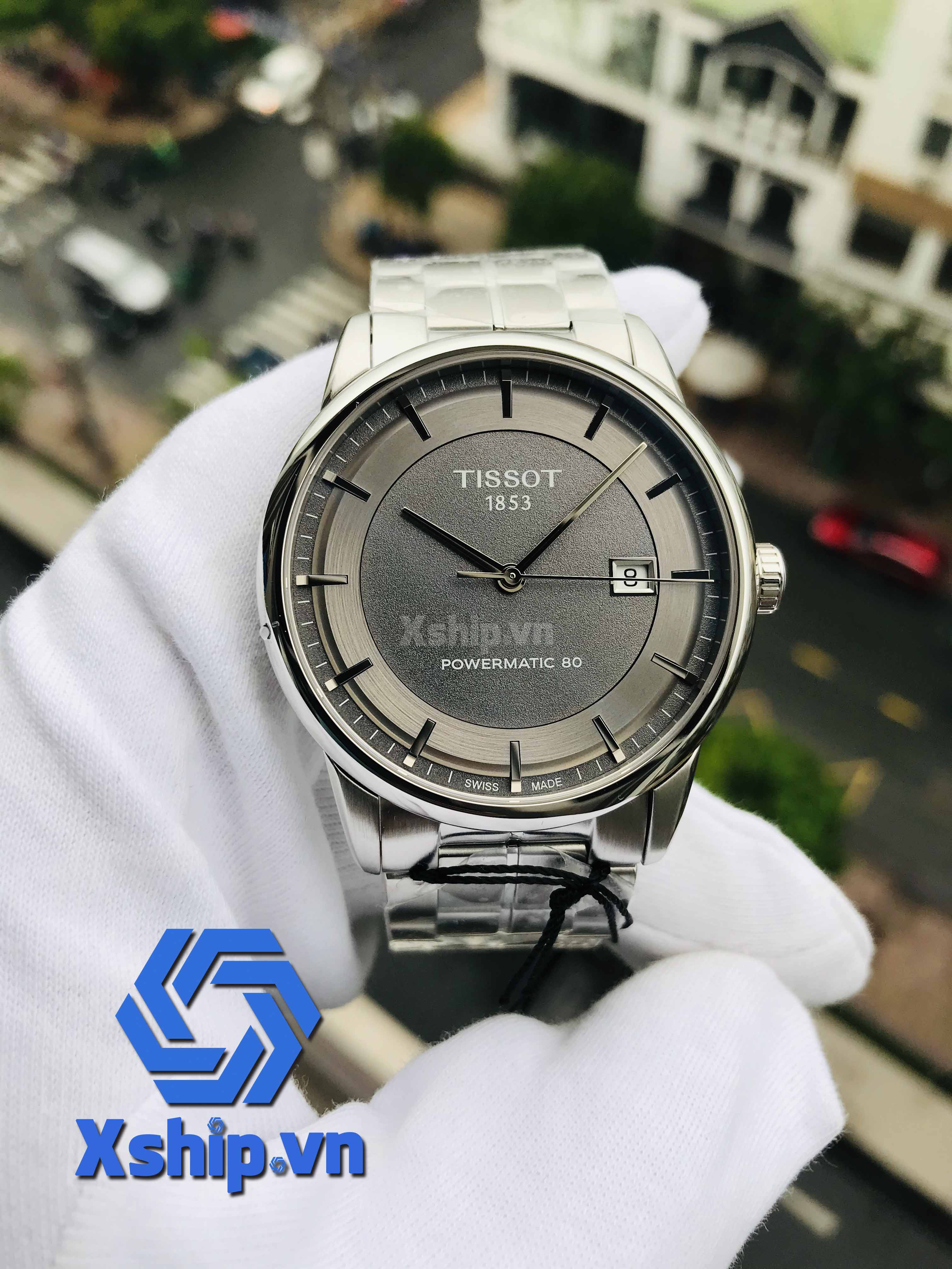 Tissot Men Luxury Powermatic 80 T086.407.11.061.00 (T0864071106100)