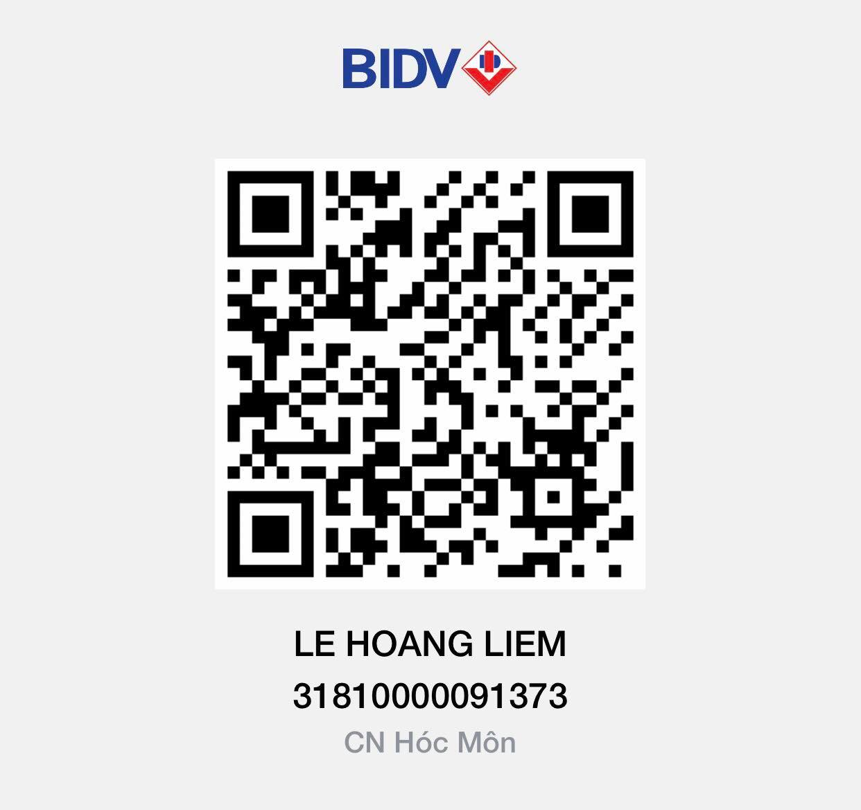 Chấp nhận thanh toán BIDV tại Xship.vn
