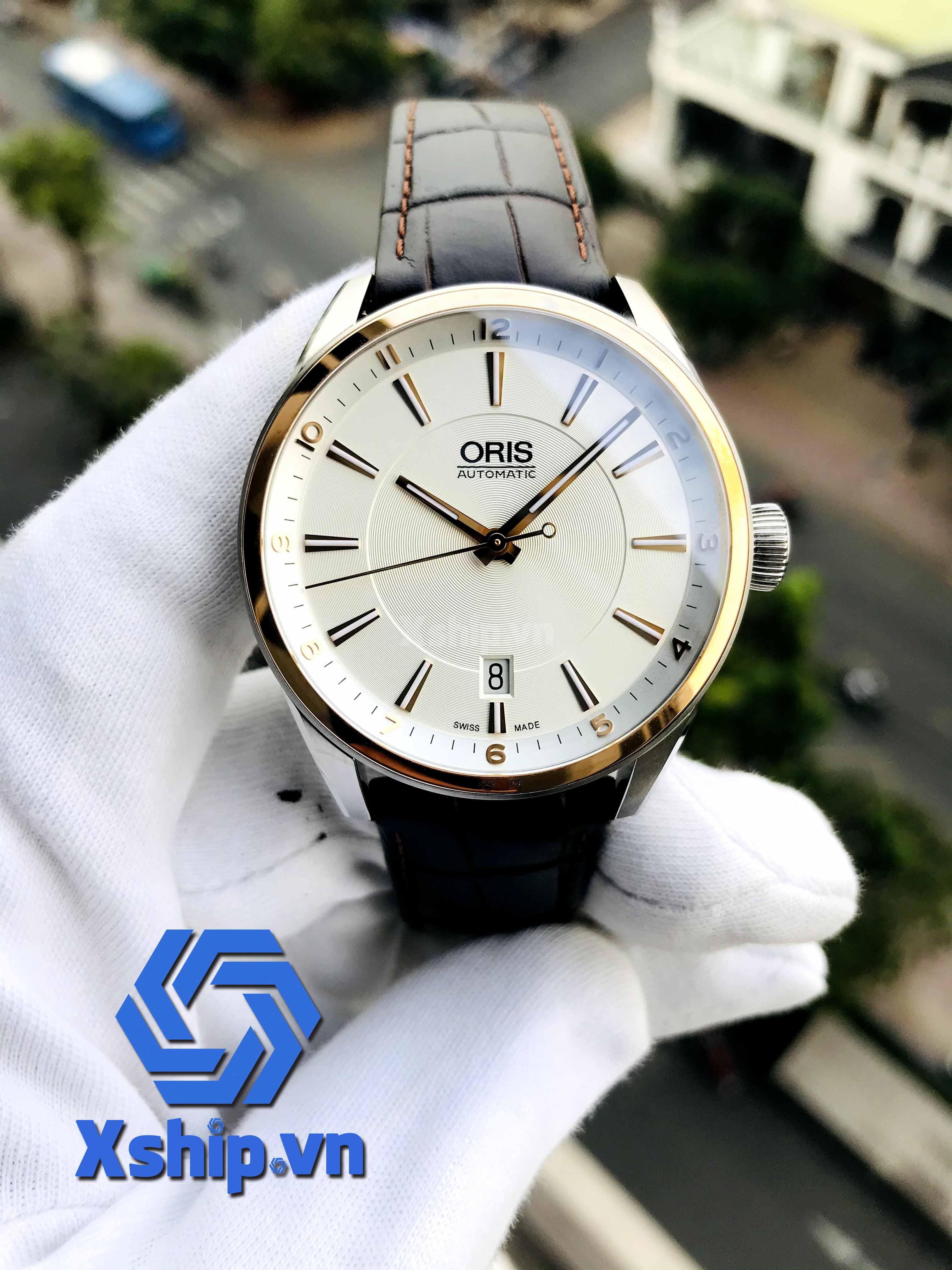 Oris Artix Date Automatic Silver Dial Men Watch 01 733 7713 6331-07 5 19 80FC