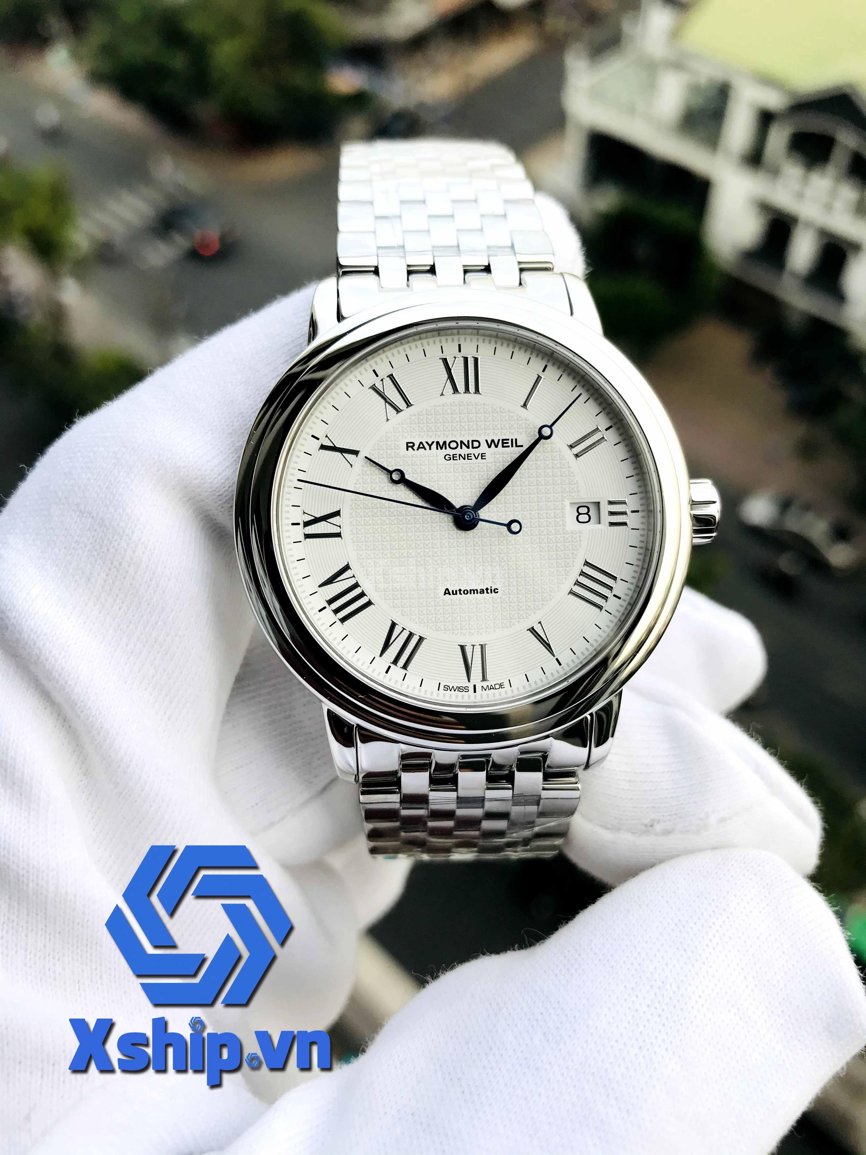 Raymond Weil Maestro Automatic Silver Dial Men Watch 2837-ST-00308