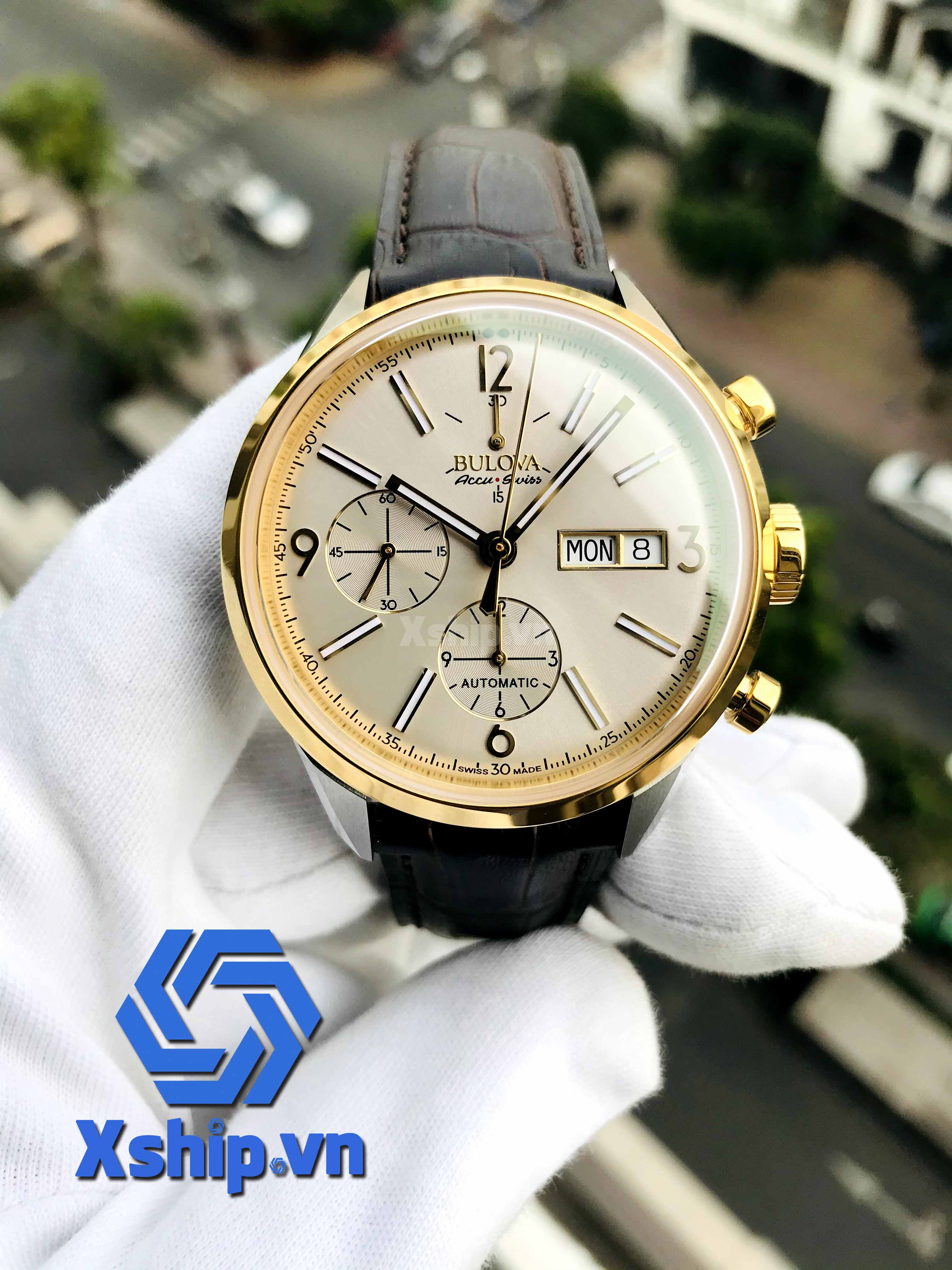 Bulova AccuSwiss Murren Automatic Watch 65C112