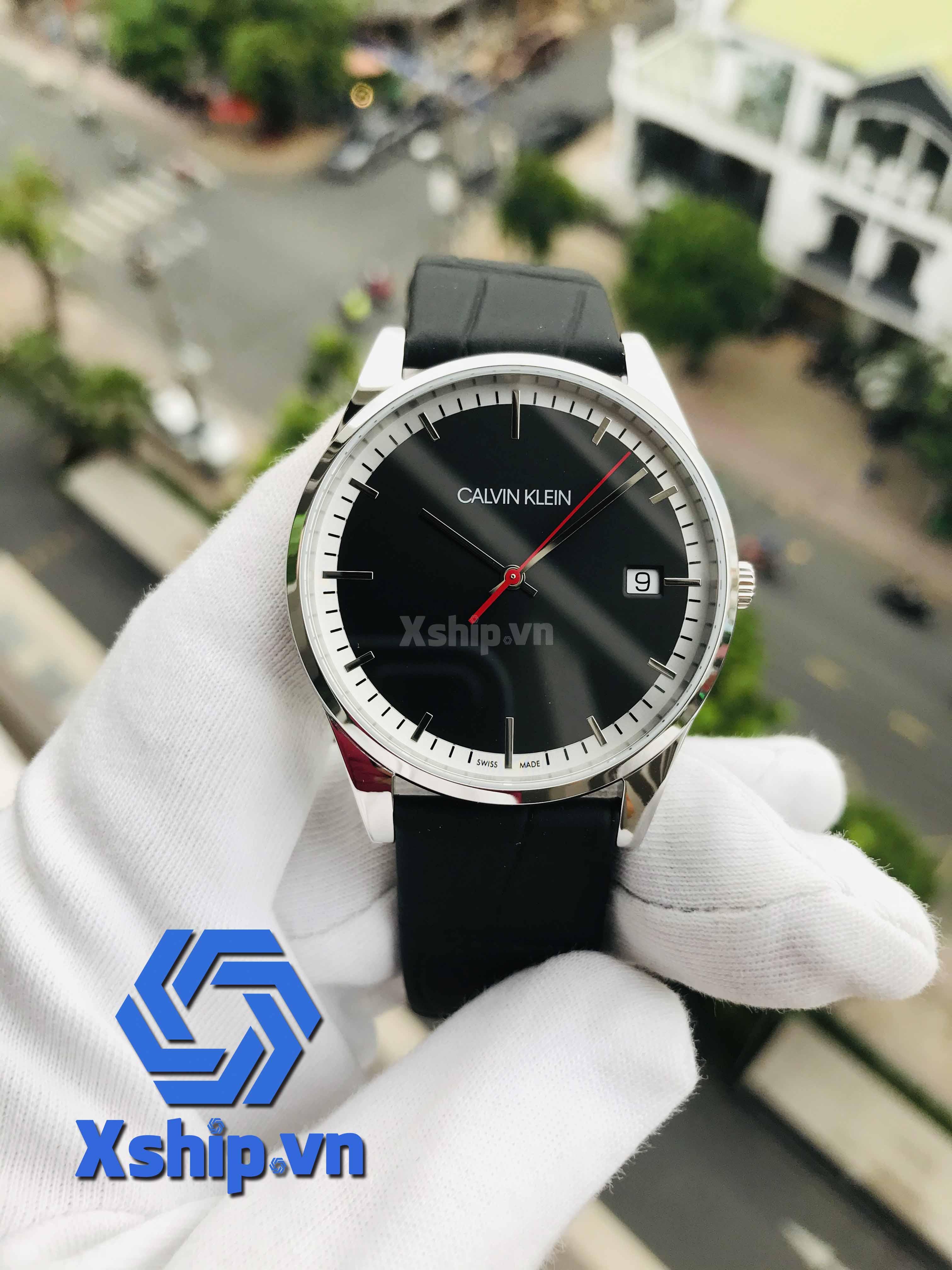 Calvin Klein Time Quartz Black Dial Men Watch K4N211C1