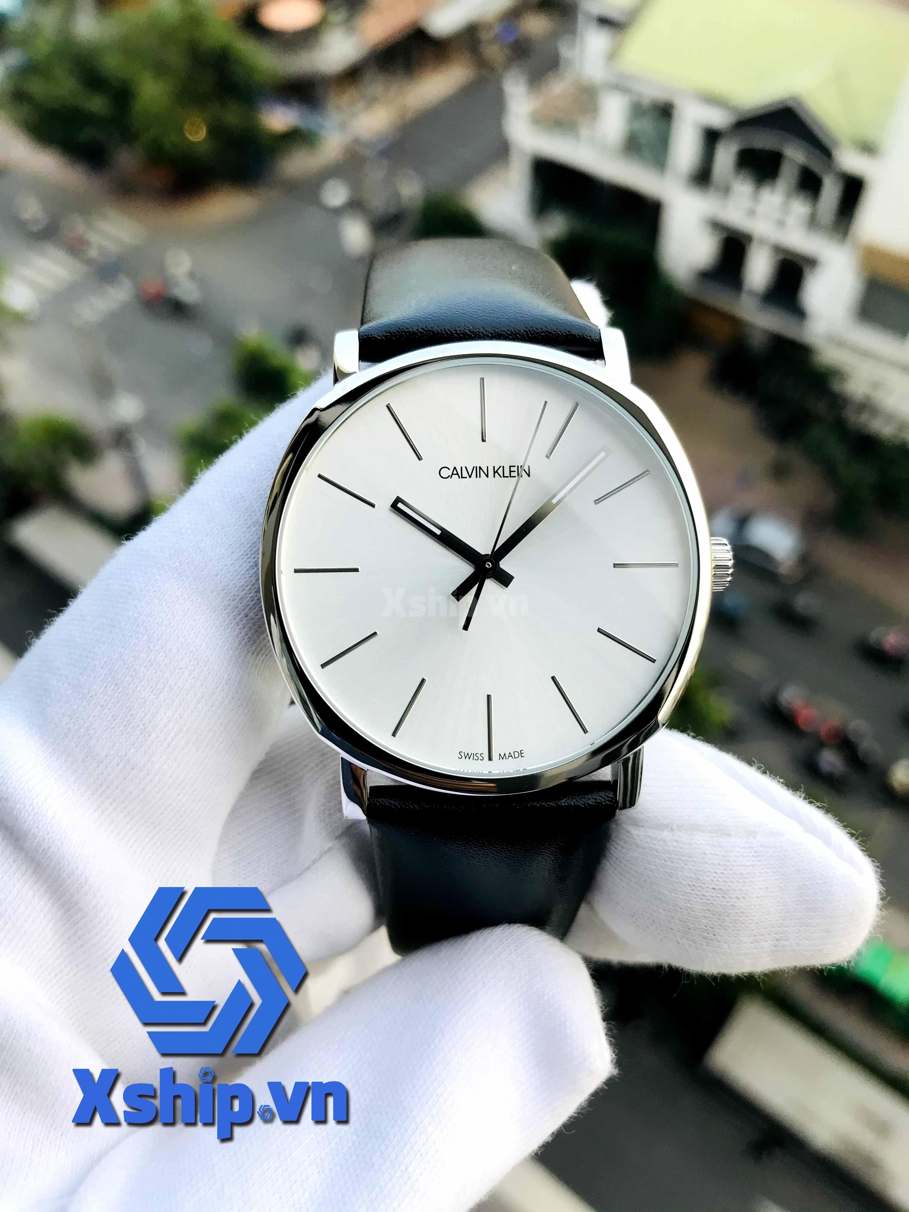Calvin Klein Posh Quartz Silver Dial Men Watch K8Q311C6