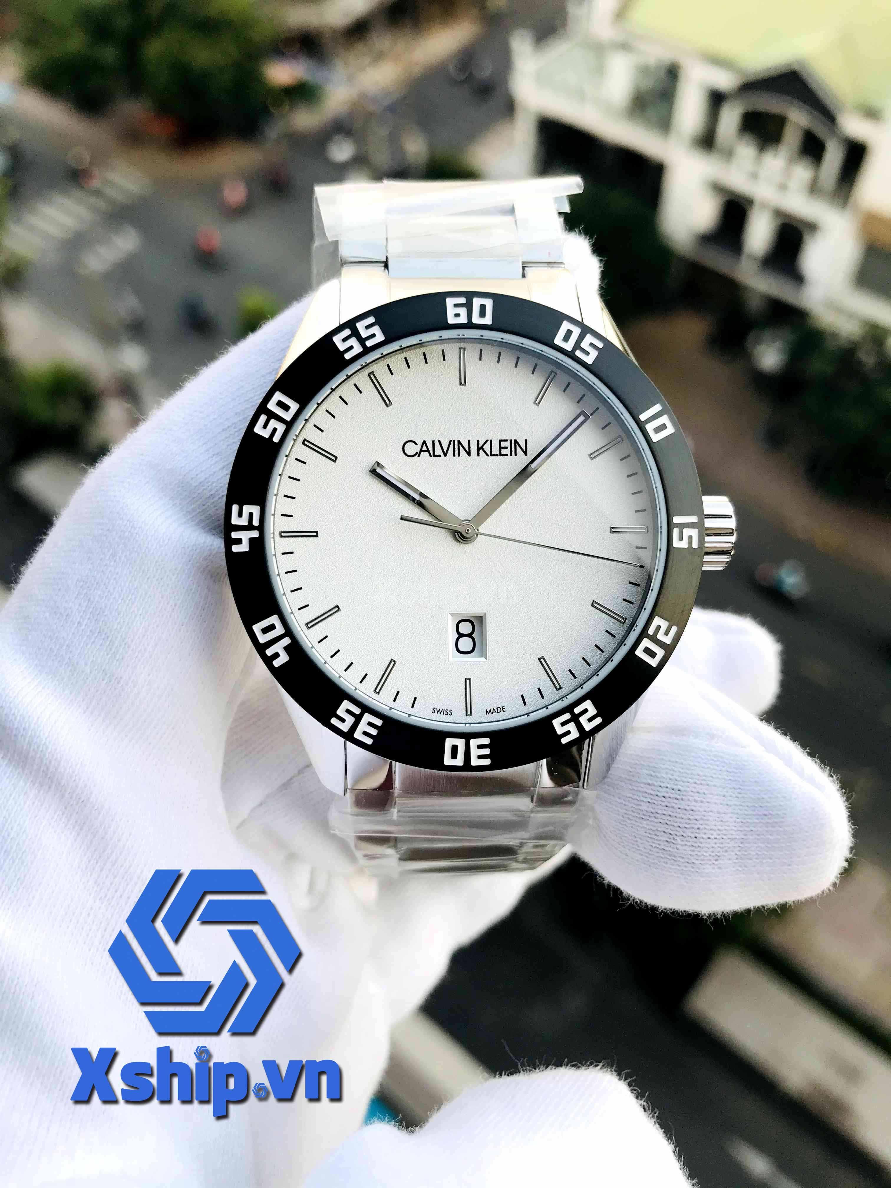 Calvin Klein Complete Quartz Silver Dial Men Watch K9R31C46