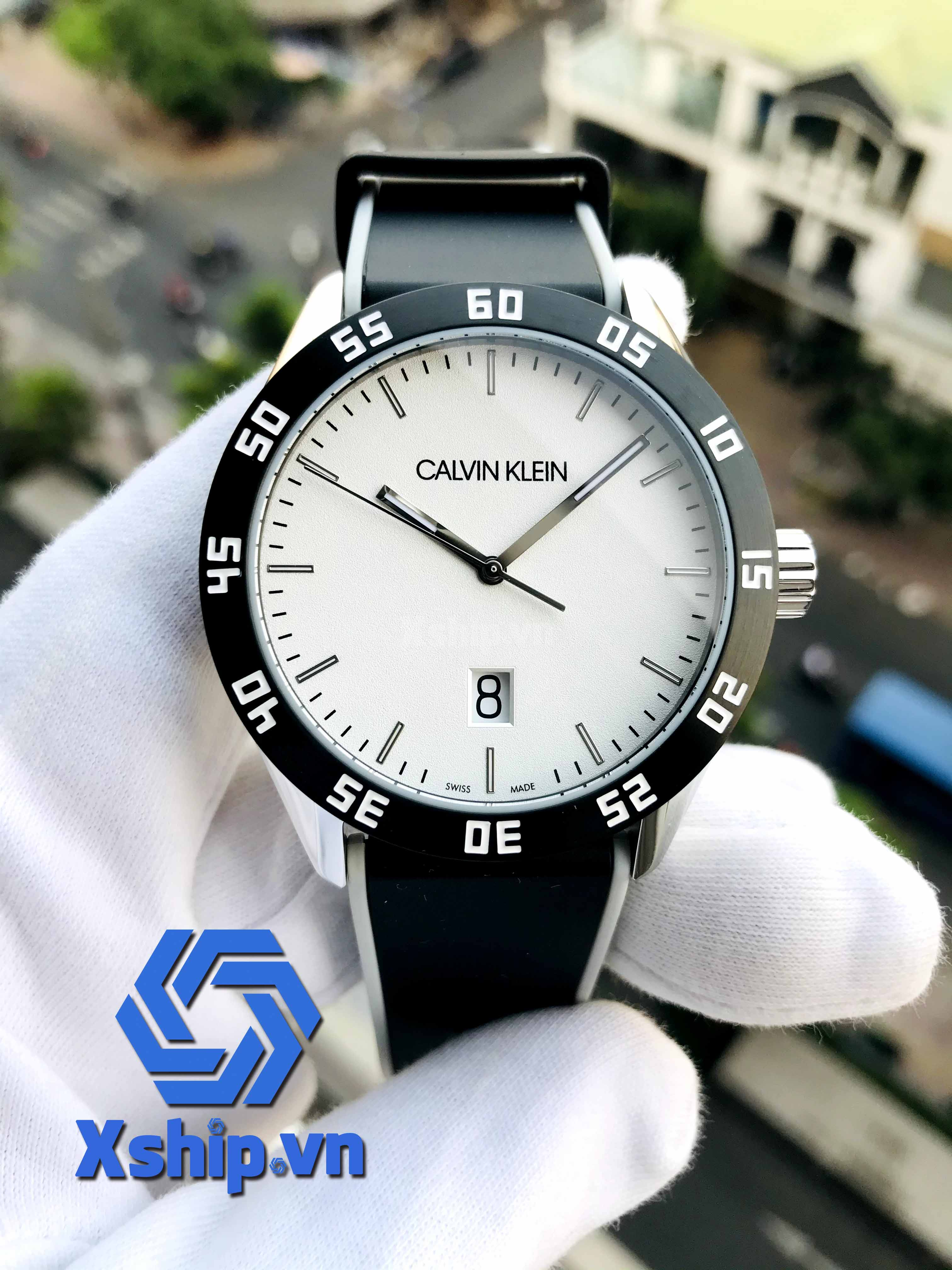 Calvin Klein Complete Quartz Silver Dial Men Watch K9R31CD6