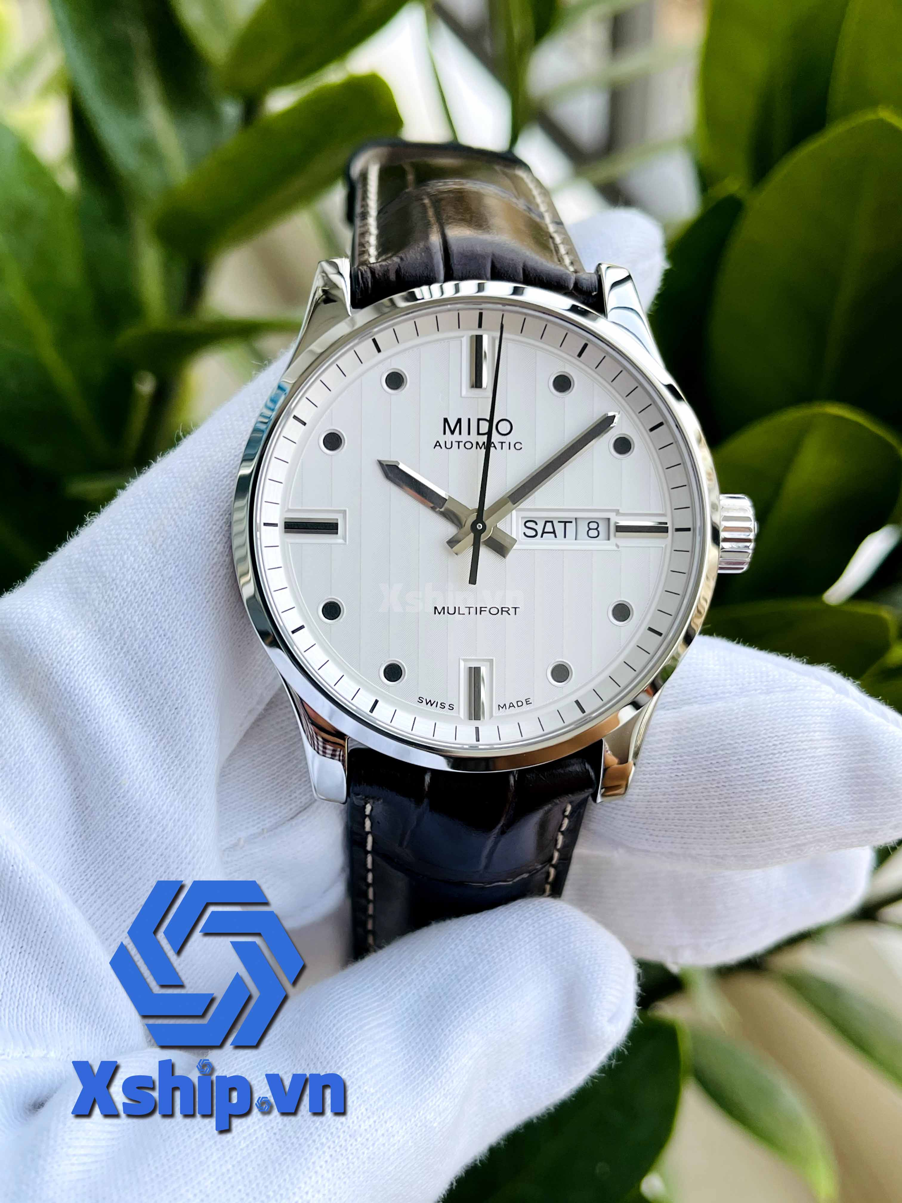 Mido Multifort Automatic Silver Dial M005.430.16.031.80 (M0054301603180)