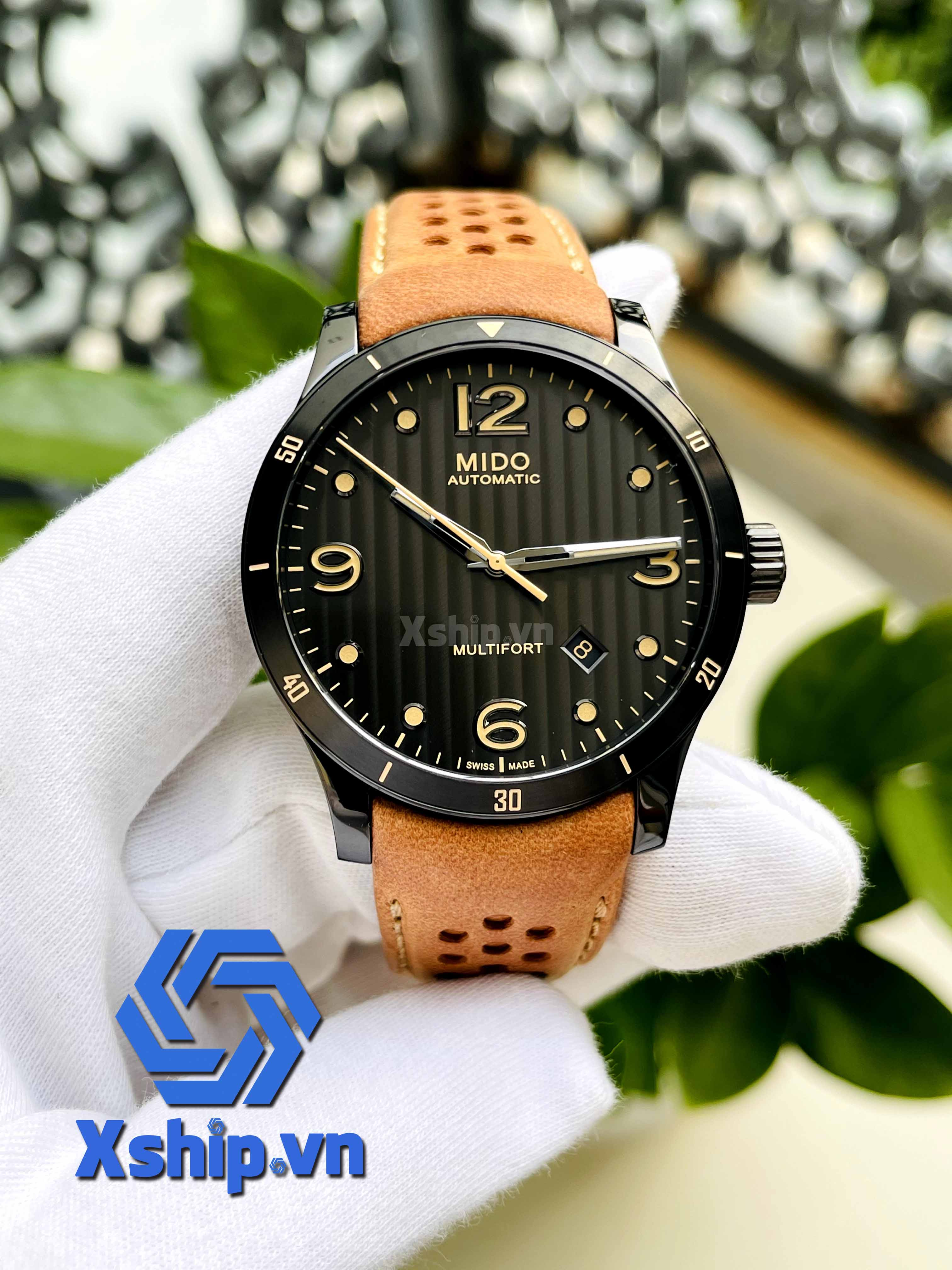 Mido Multifort Automatic Anthracite Dial Mens M025.407.36.061.10 (M0254073606110)