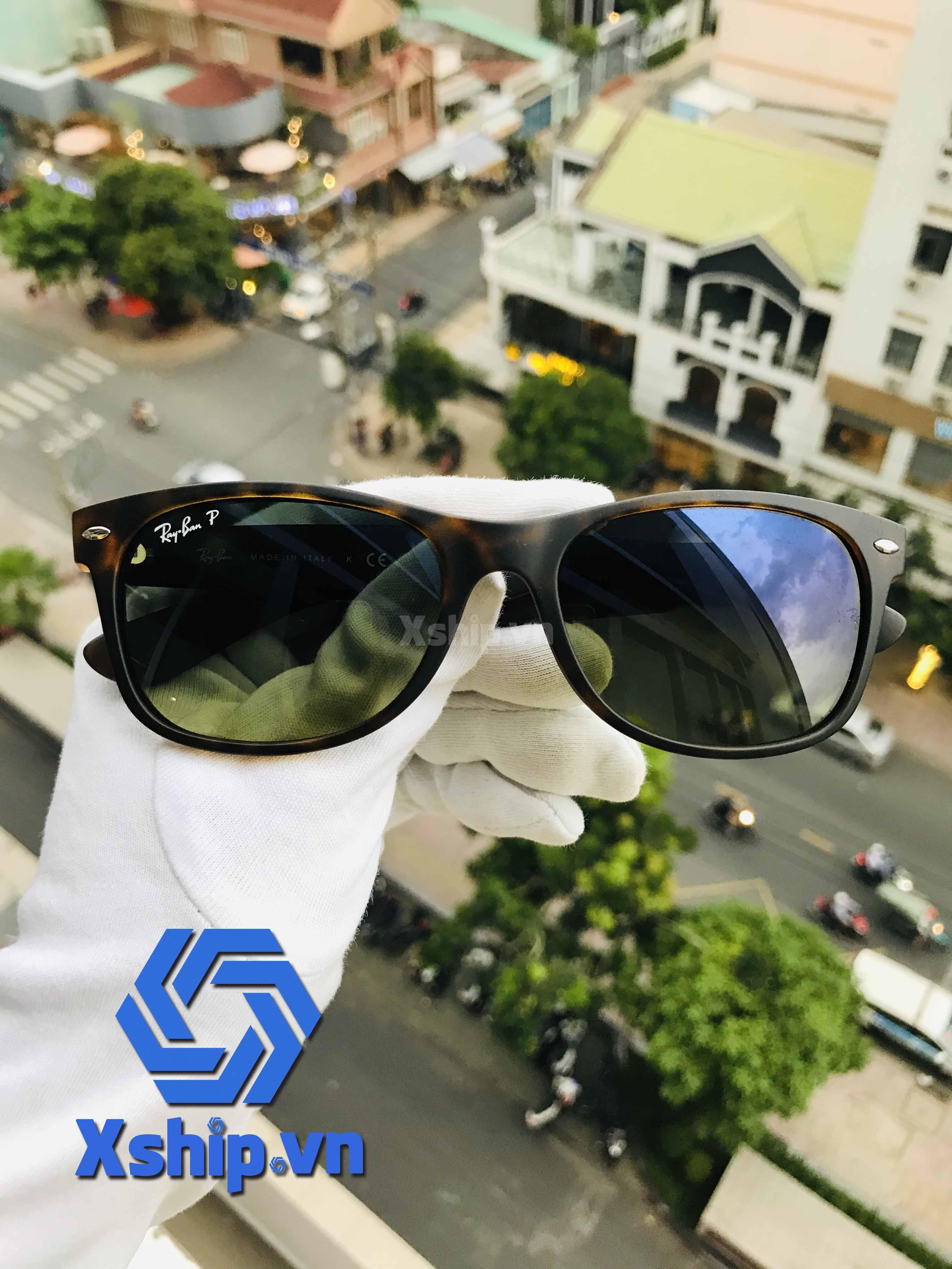 Ray Ban New Wayfarer Sunglasses RB2132 894/76 55-18