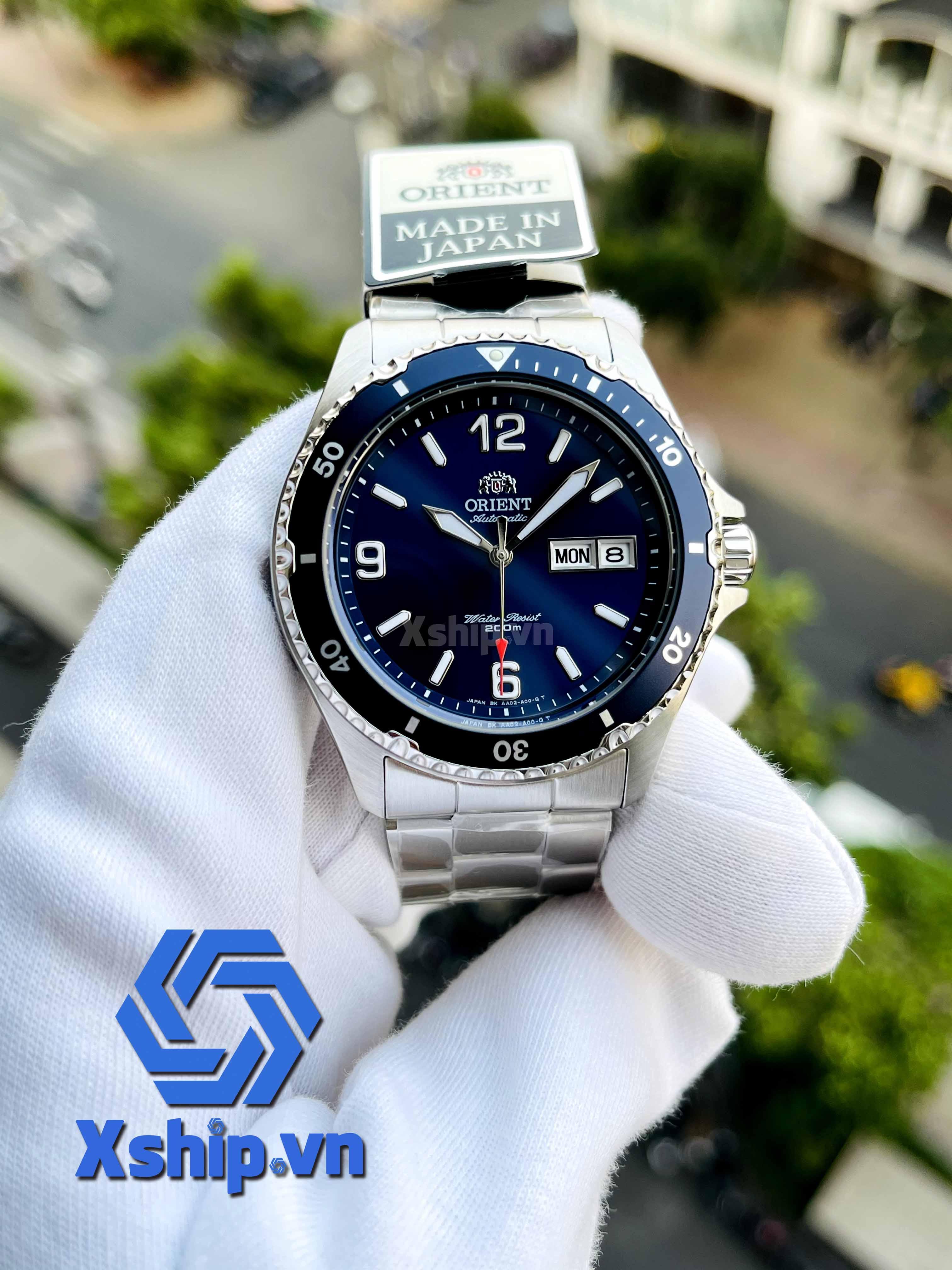 Orient Blue Mako II SAA02002D3-B
