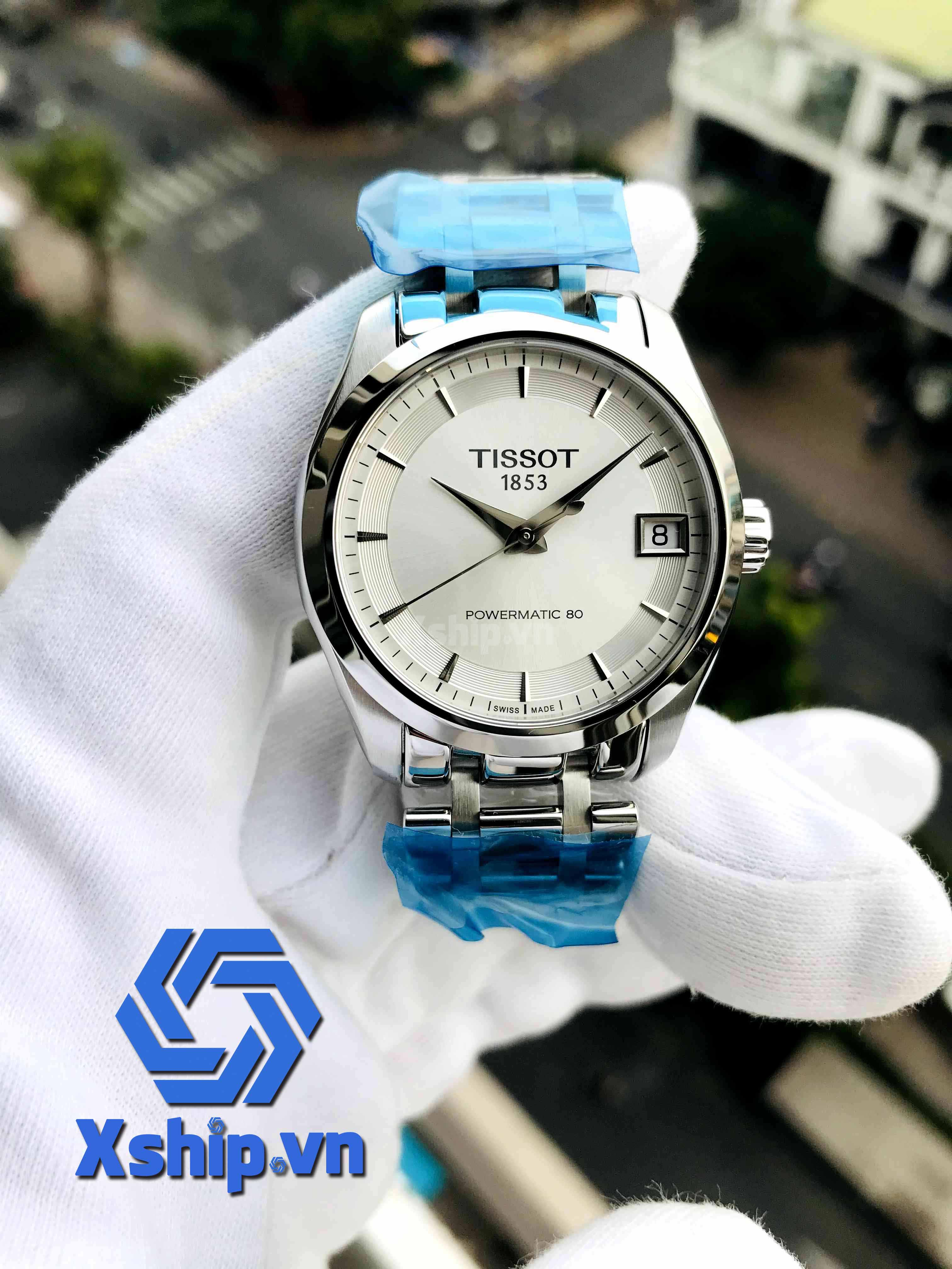Tissot Couturier Powermatic 80 Automatic Ladies T035.207.11.031.00 (T0352071103100)