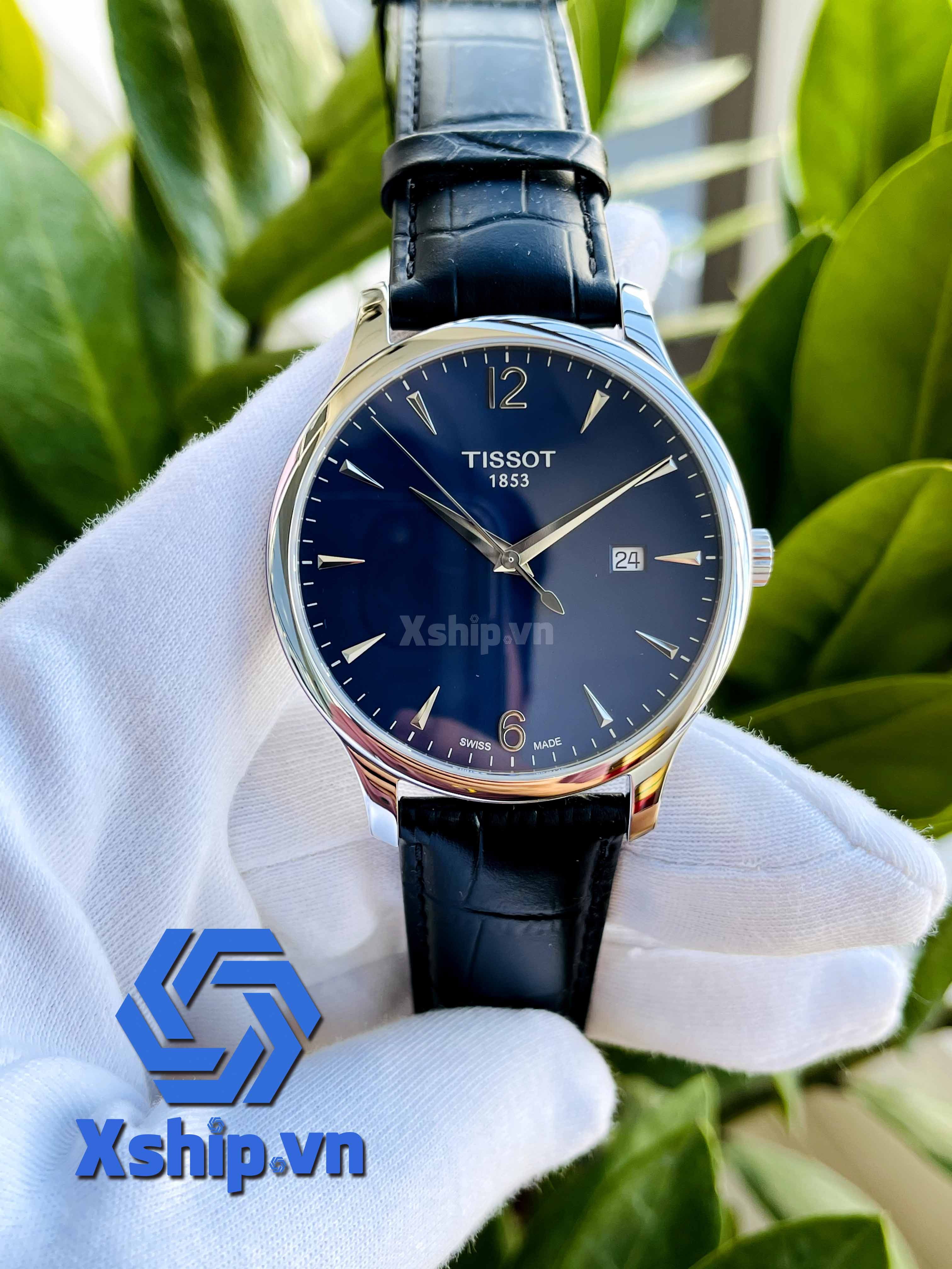 Tissot Tradition Quartz Blue Dial Men Watch T063.610.16.047.00