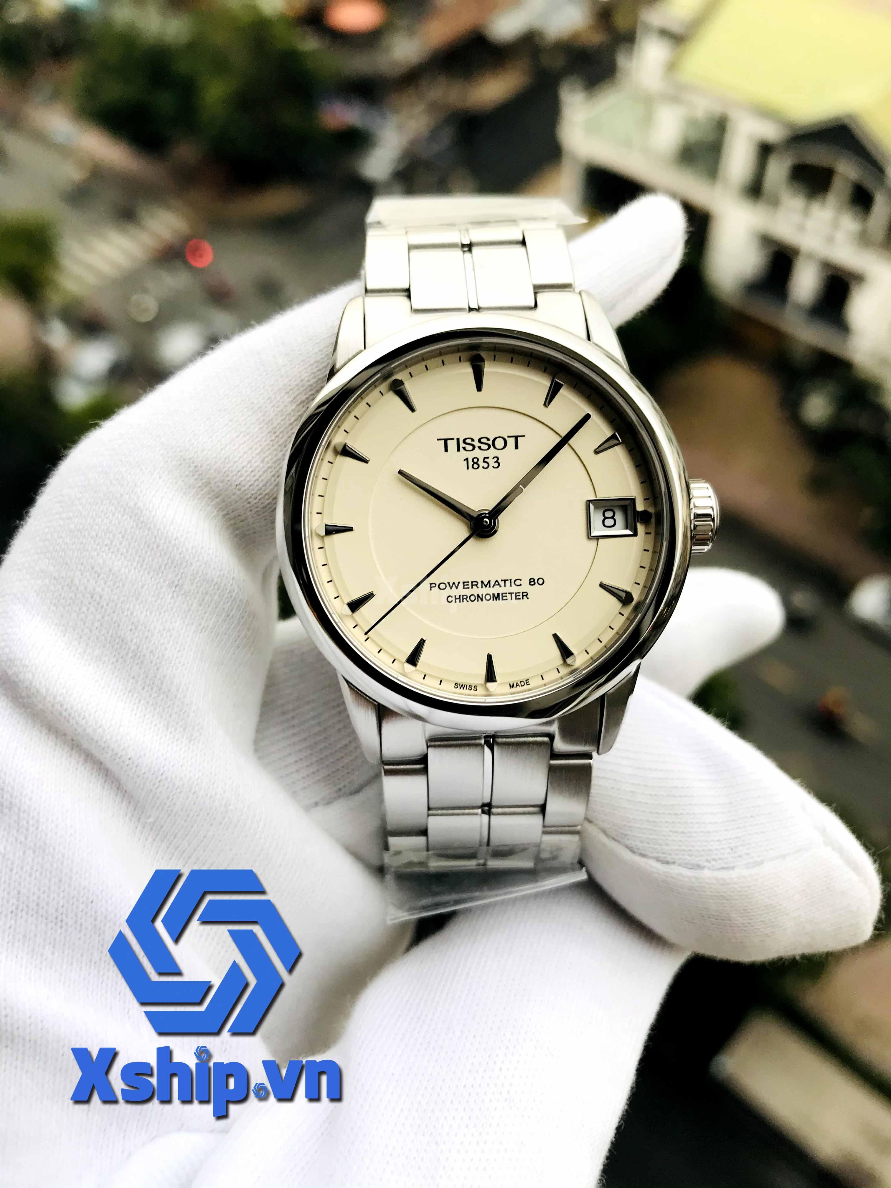Tissot Luxury Automatic Ivory Dial Ladies T086.208.11.261.00