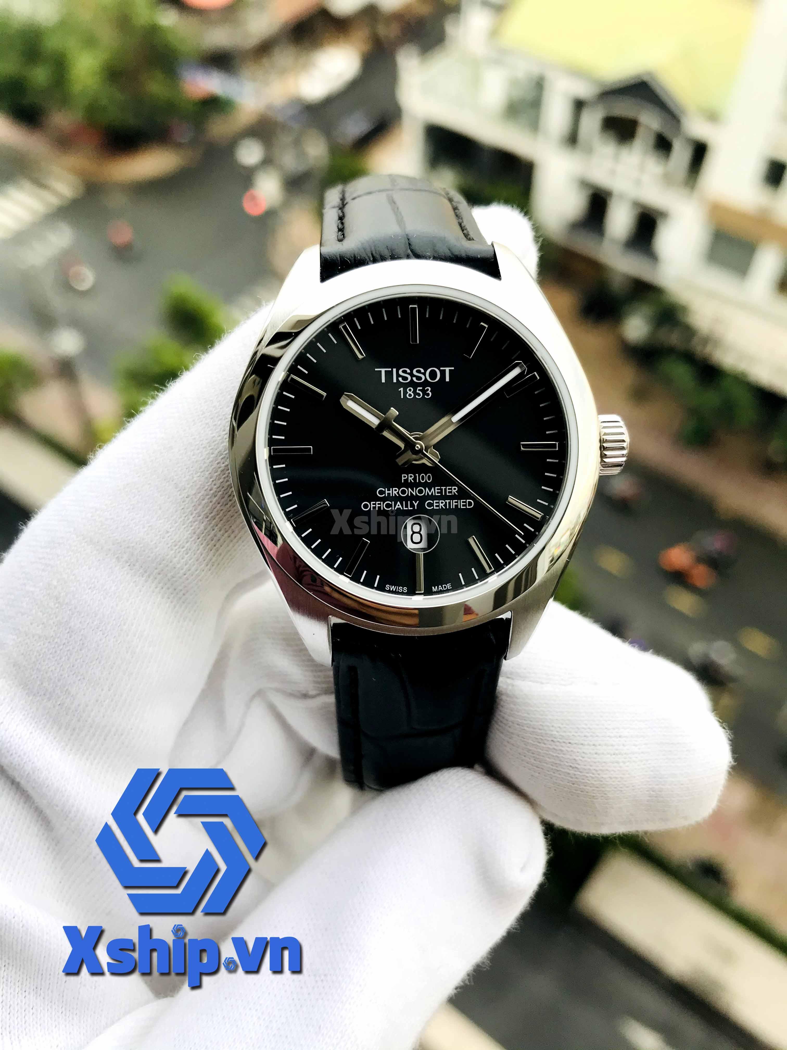 Tissot PR 100 Black Dial Ladies T101.251.16.051.00 (T1012511605100)